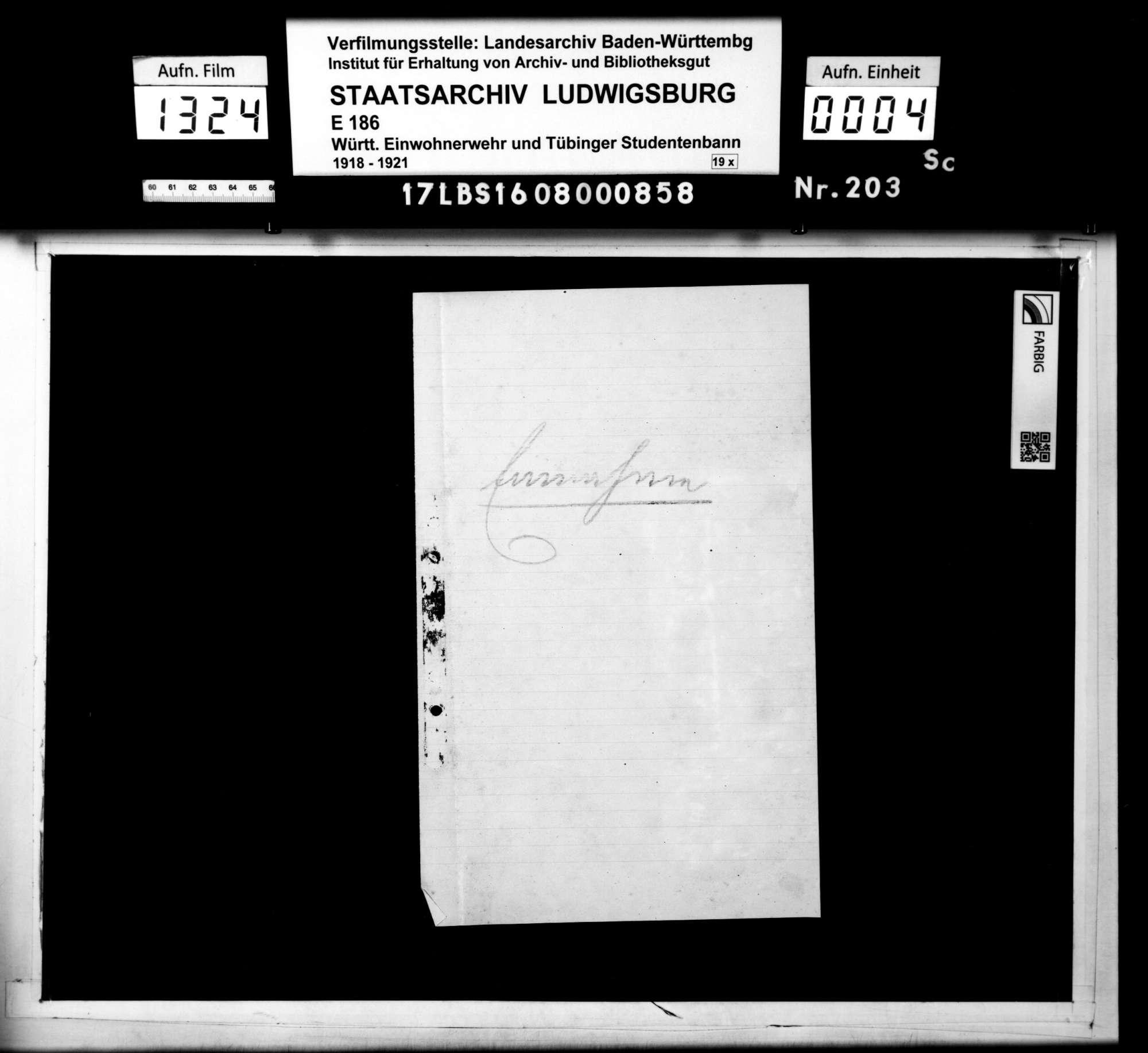 Einnahme- und Ausgabescheine für Material, Bild 2