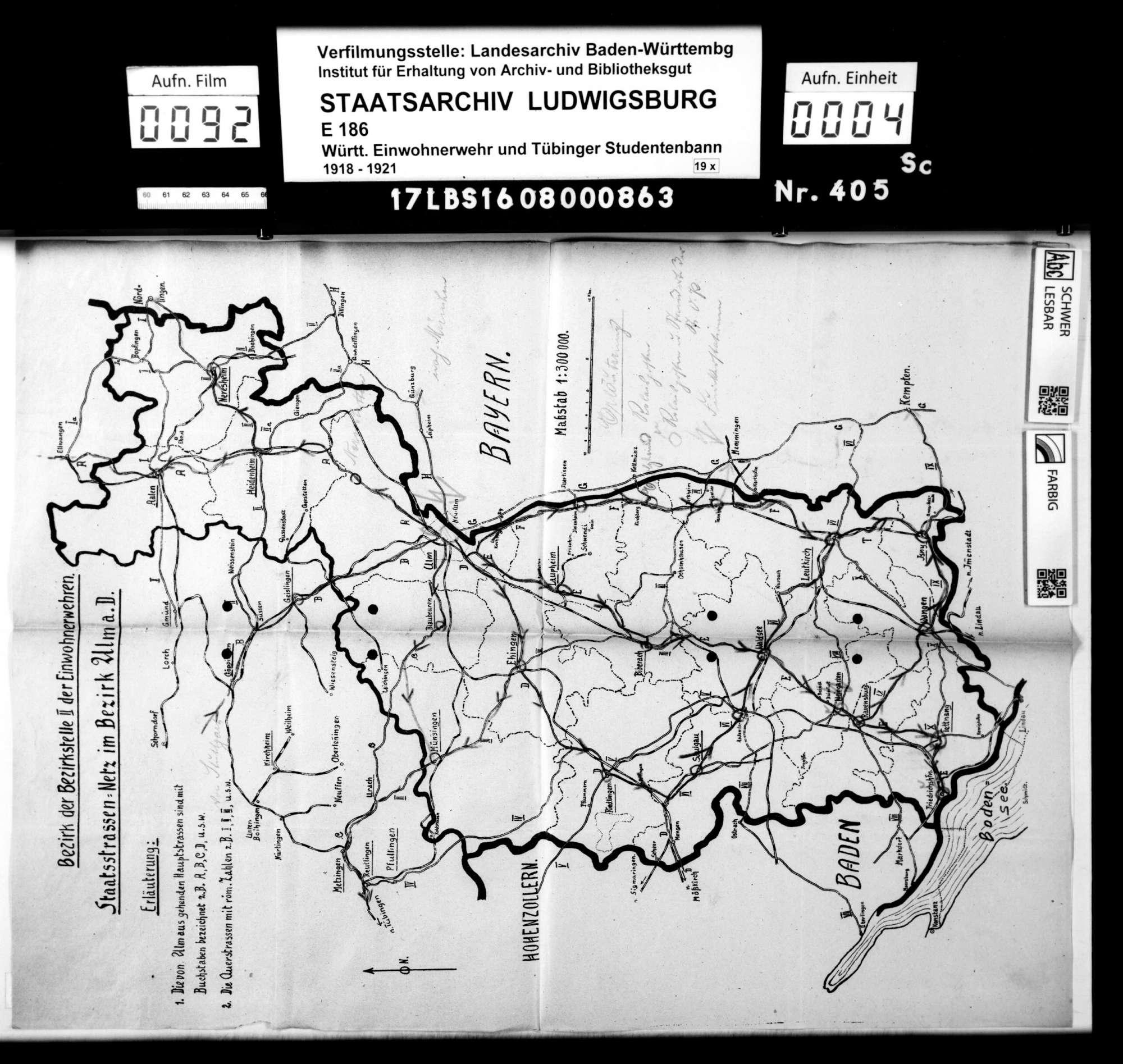 Verfügungen der Hauptstelle für Einwohnerwehren Württembergs, Mitteilungen der Hauptstelle und der Bezirksstelle 2 Ulm, Wochenberichte, Bild 2