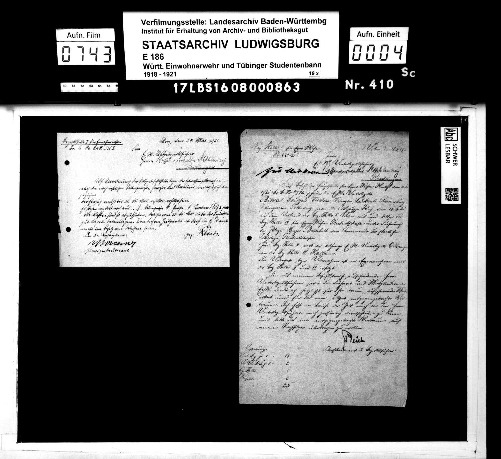 Mitteilungen der Bezirksstelle 2 Ulm und des Kassenamts, Bild 2