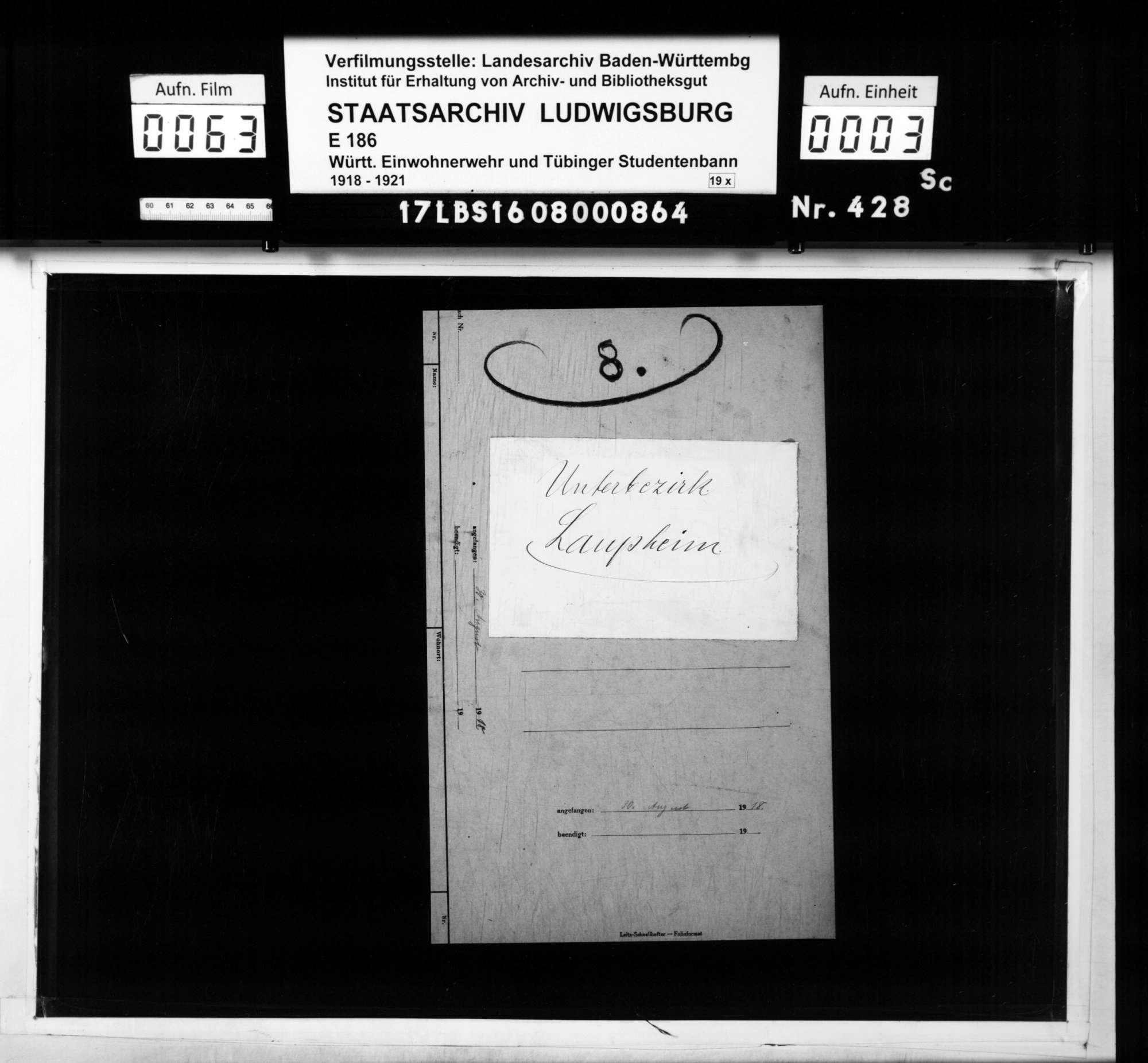 Unterbezirk Laupheim, Bild 1