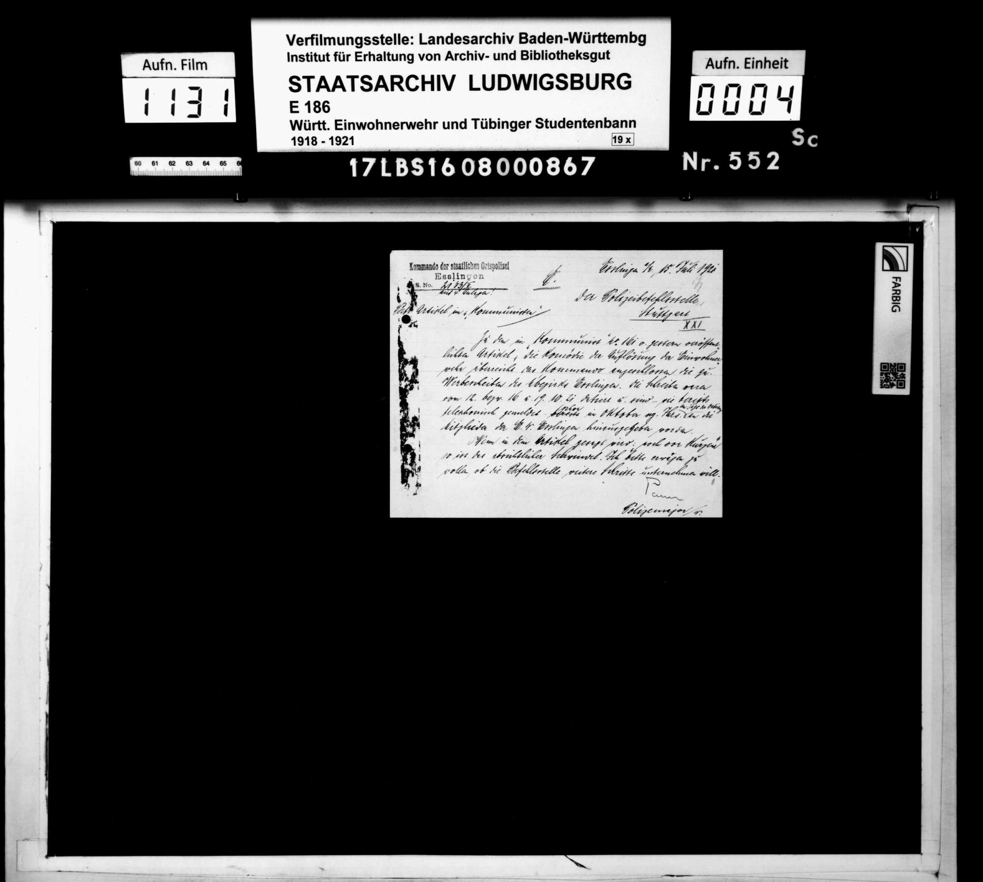 Propaganda (Zeitungen, Flugblätter, Plakate), Bild 1
