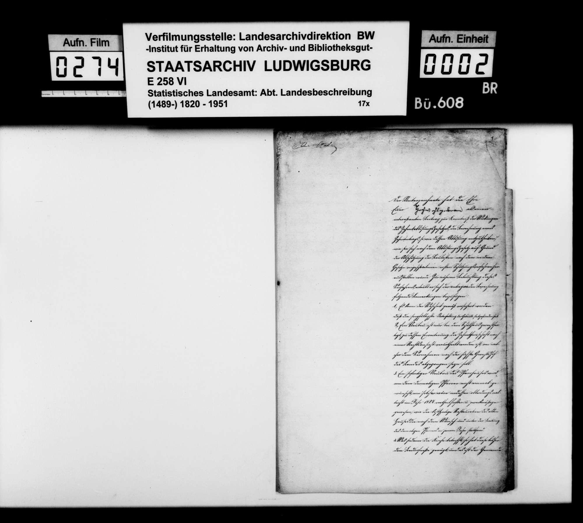 Zehntablösung beim Freiherrn von Wöllwarth, Bild 1