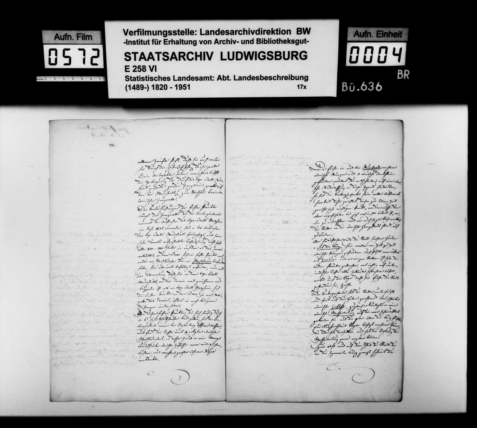 Bericht des Topographen [Karl Eduard] Paulus über römische und mittelalterliche Altertümer im Oberamt, Bild 3