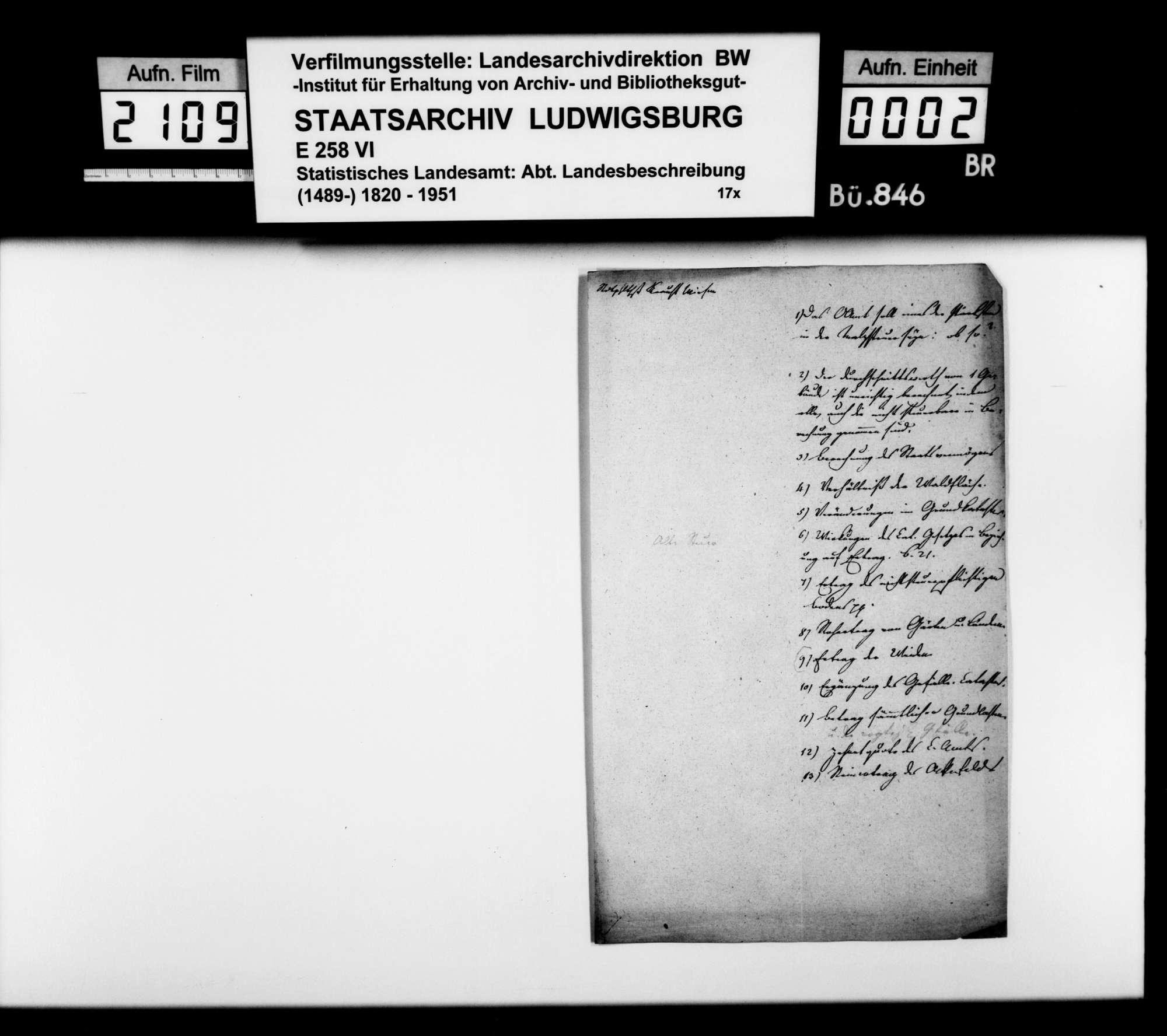 Anstände und Nachfragen zum Manuskript der OAB, Bild 1