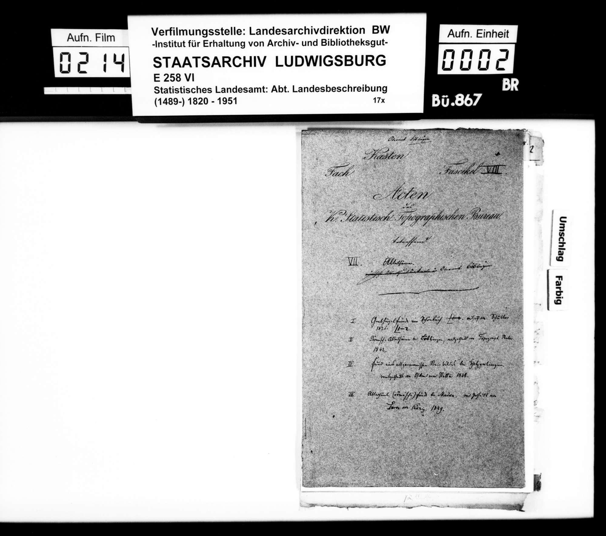 Mitteilungen über Ausgrabungen und Bodenfunde im Oberamt, Bild 1
