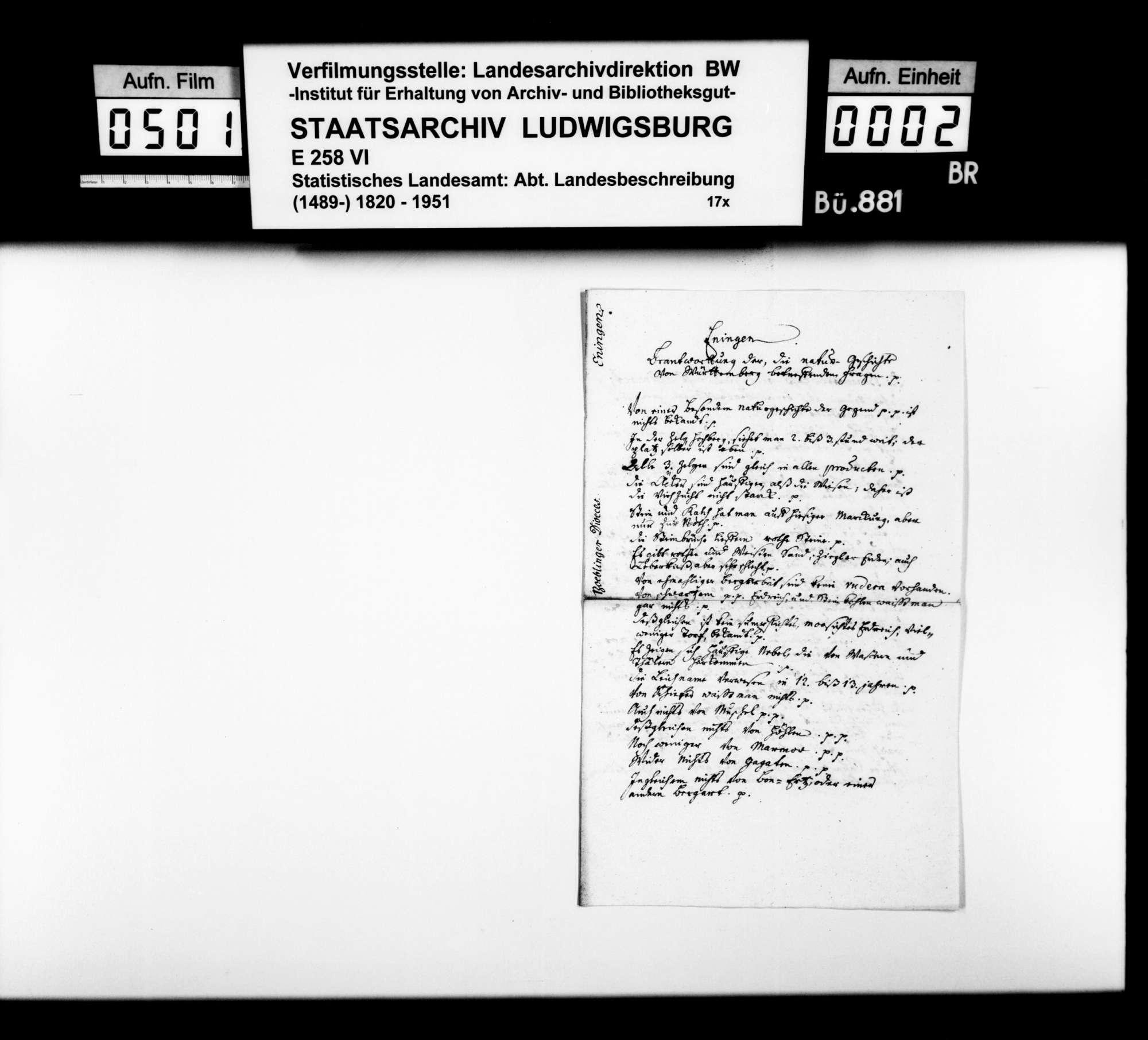Desgleichen zu Ehningen, Bild 1