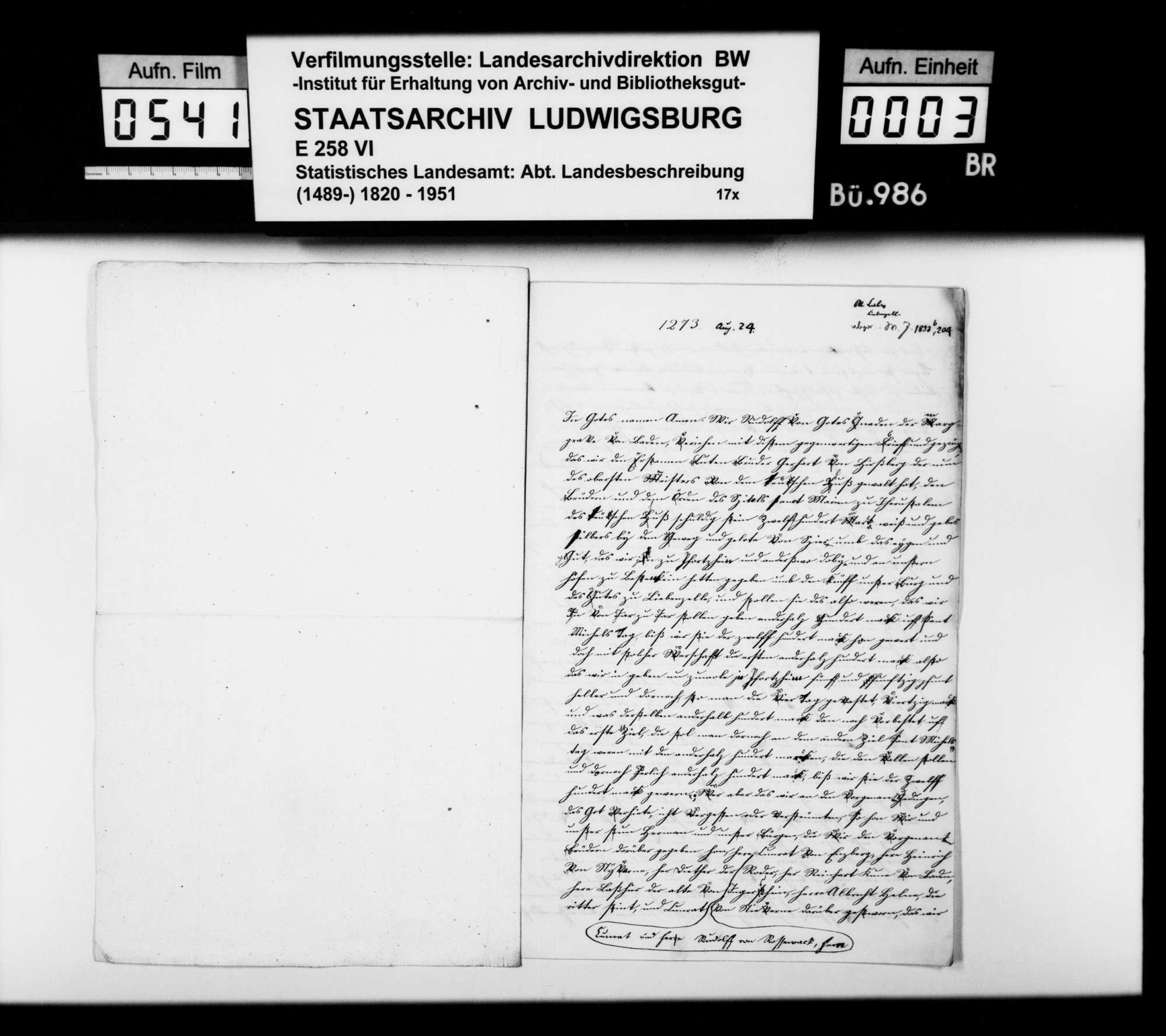 Quellen zur Geschichte im Oberamtsbezirk, Bild 2