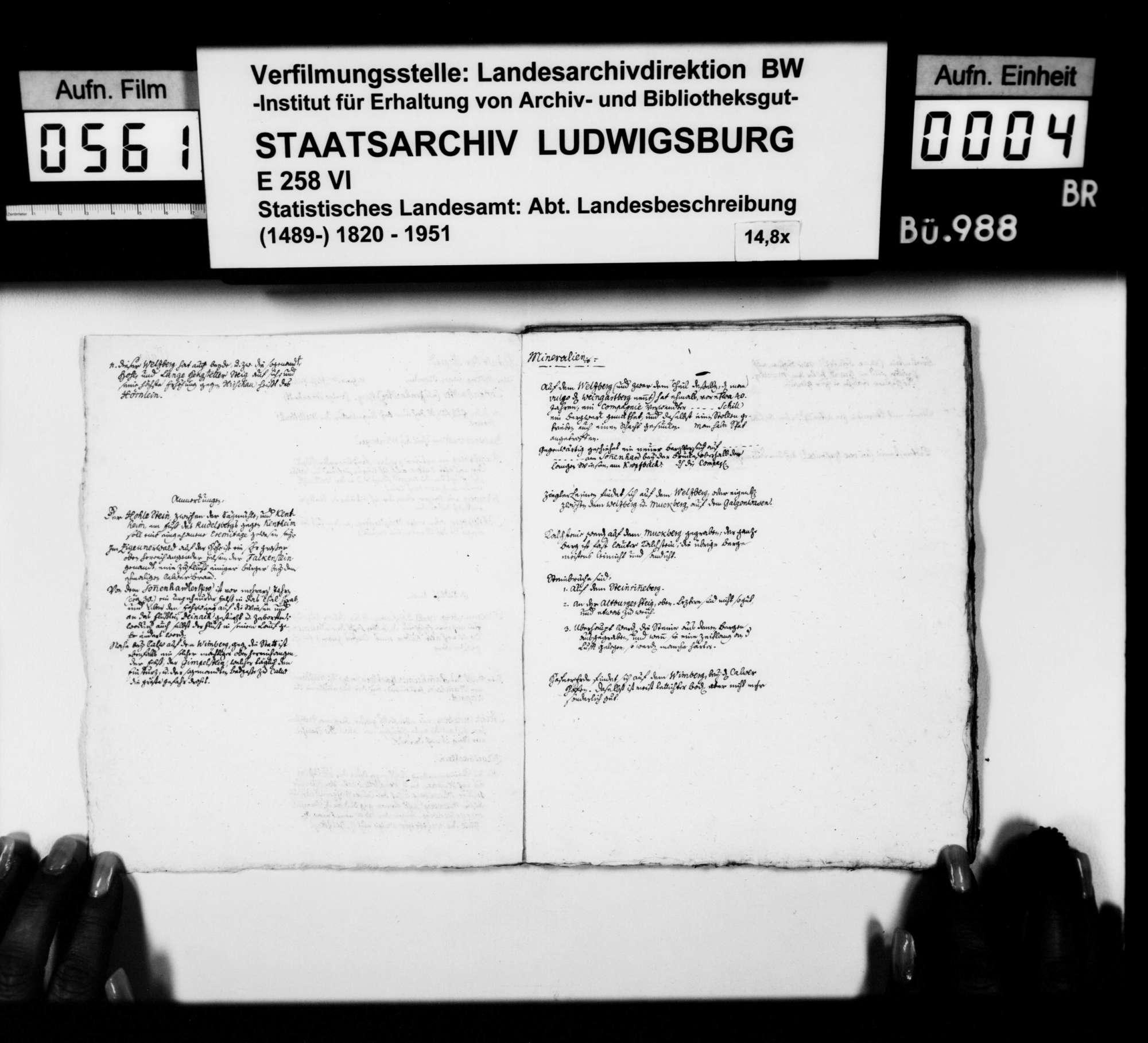 Forschungsergebnisse [des Stuttgarter Gymnasialprofessors Gottlieb Friedrich] Rösler zur Naturgeschichte der Gebiete um Zwerenberg, Breitenberg, Neuweiler, Zavelstein, Teinach, Stammheim, Calw, Hirsau und Liebenzell, Bild 3