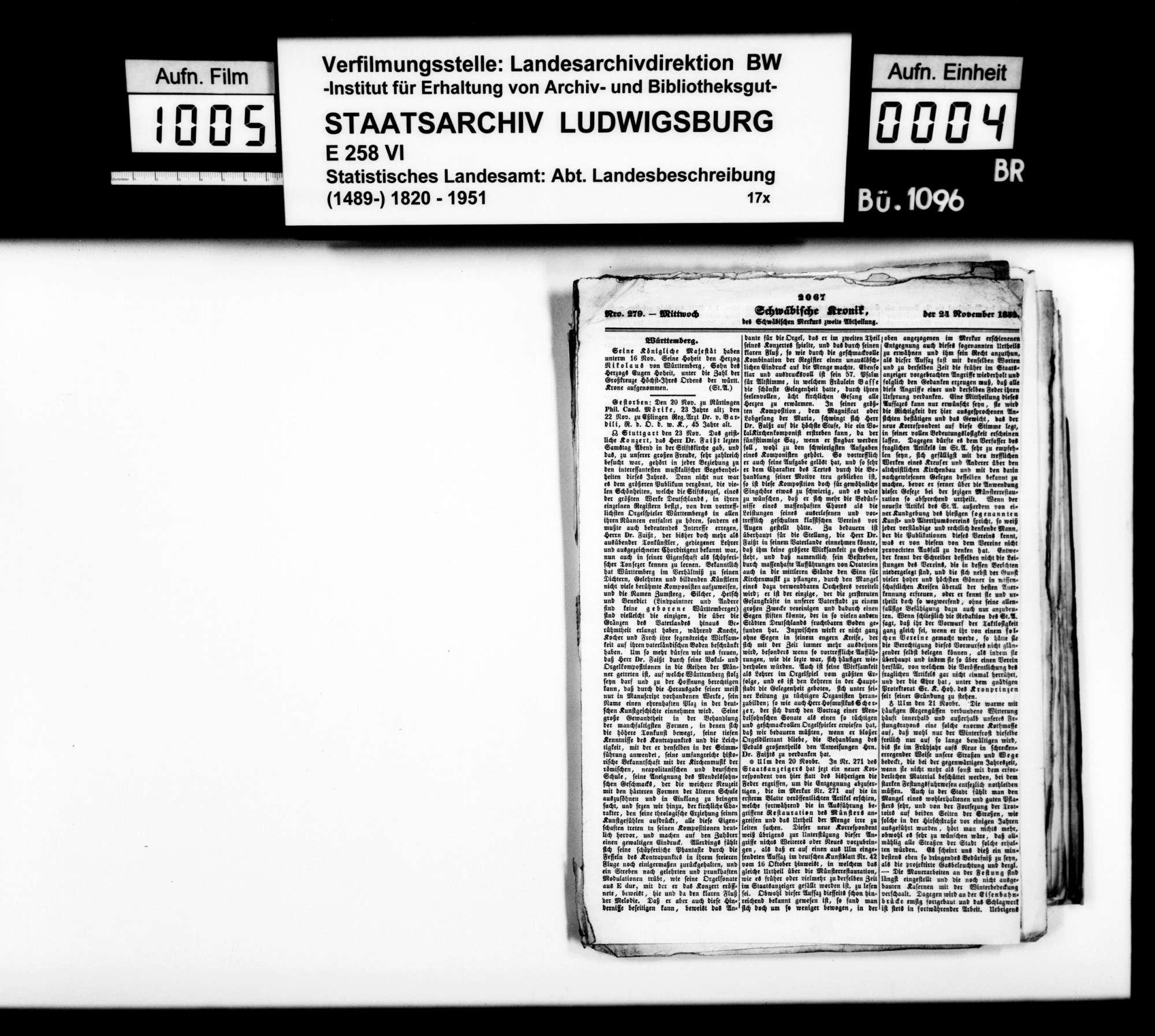 Zeitungsartikelsammlung [des Finanzrats Rudolf Moser] zur OAB, Bild 3