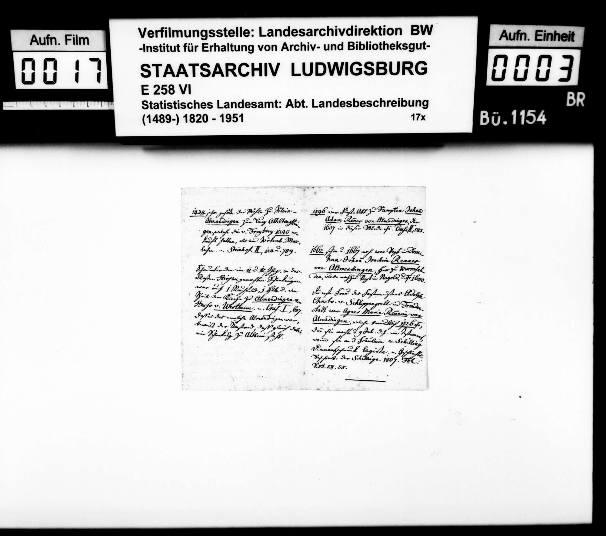 Ortsbeschreibung von Allmendingen, Bild 2