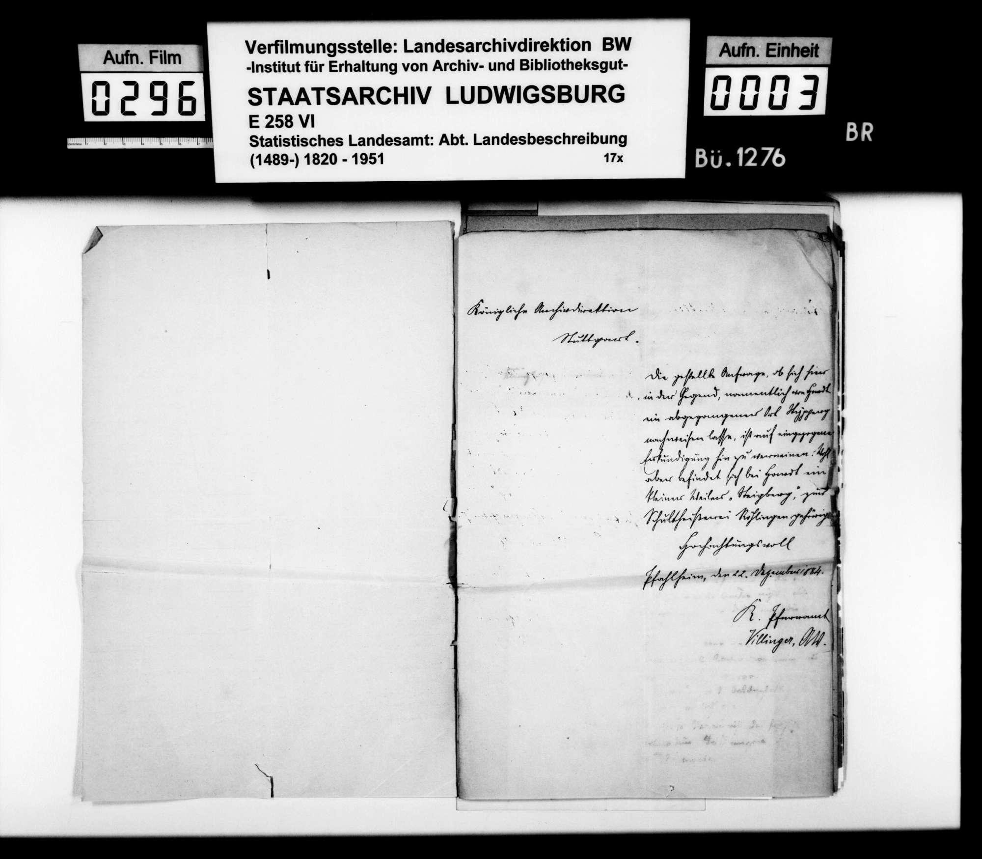 Auskünfte lokaler Amtsträger auf Nachfragen des STBs v.a. zu Besitzgeschichte und Rechtsverhältnissen, Bild 2