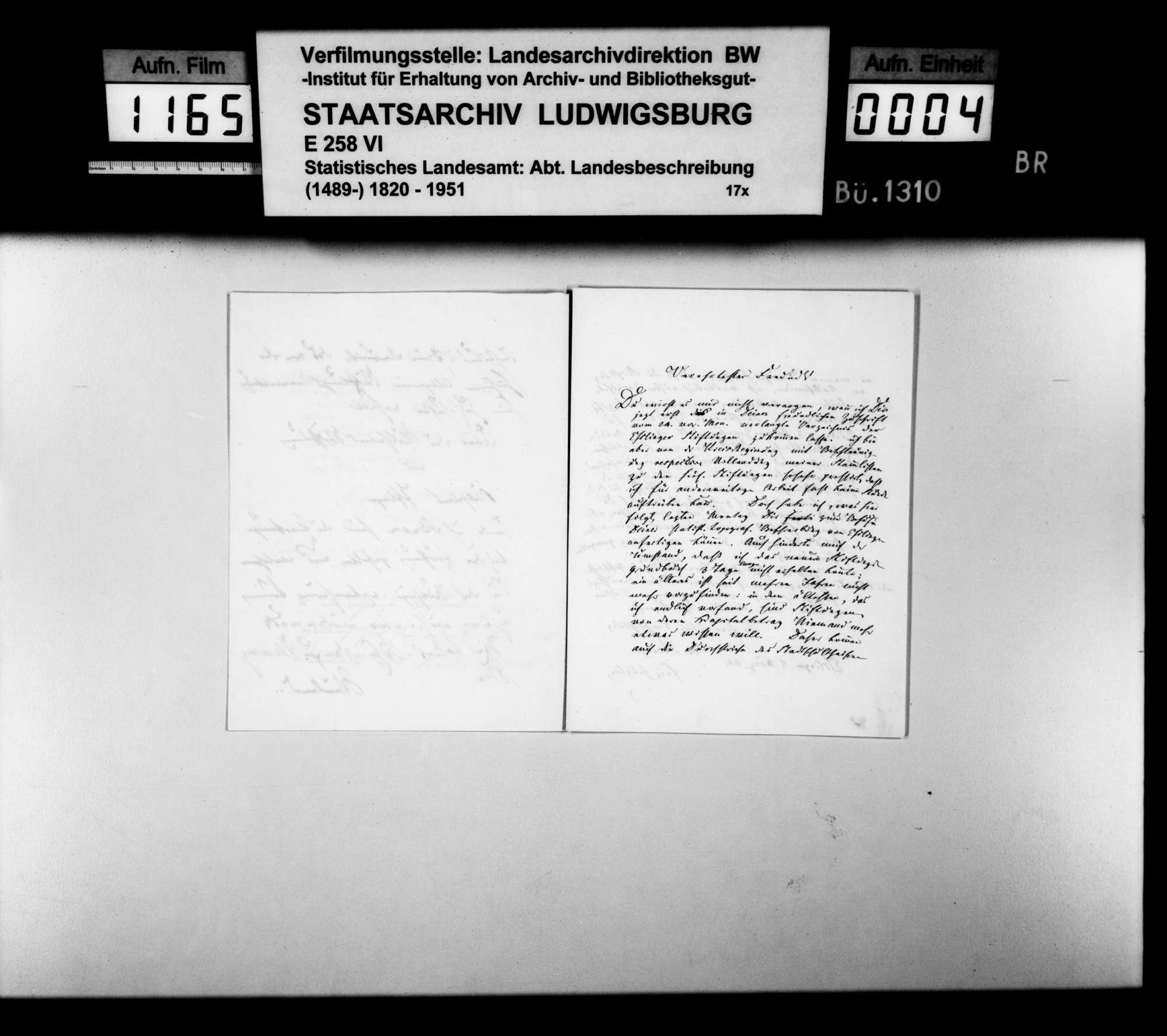 Verzeichnis sämtlicher Wohltätigkeits- und Armenstiftungen in Esslingen, von Pfarrer a.D. Fritz Heuglin, Bild 3