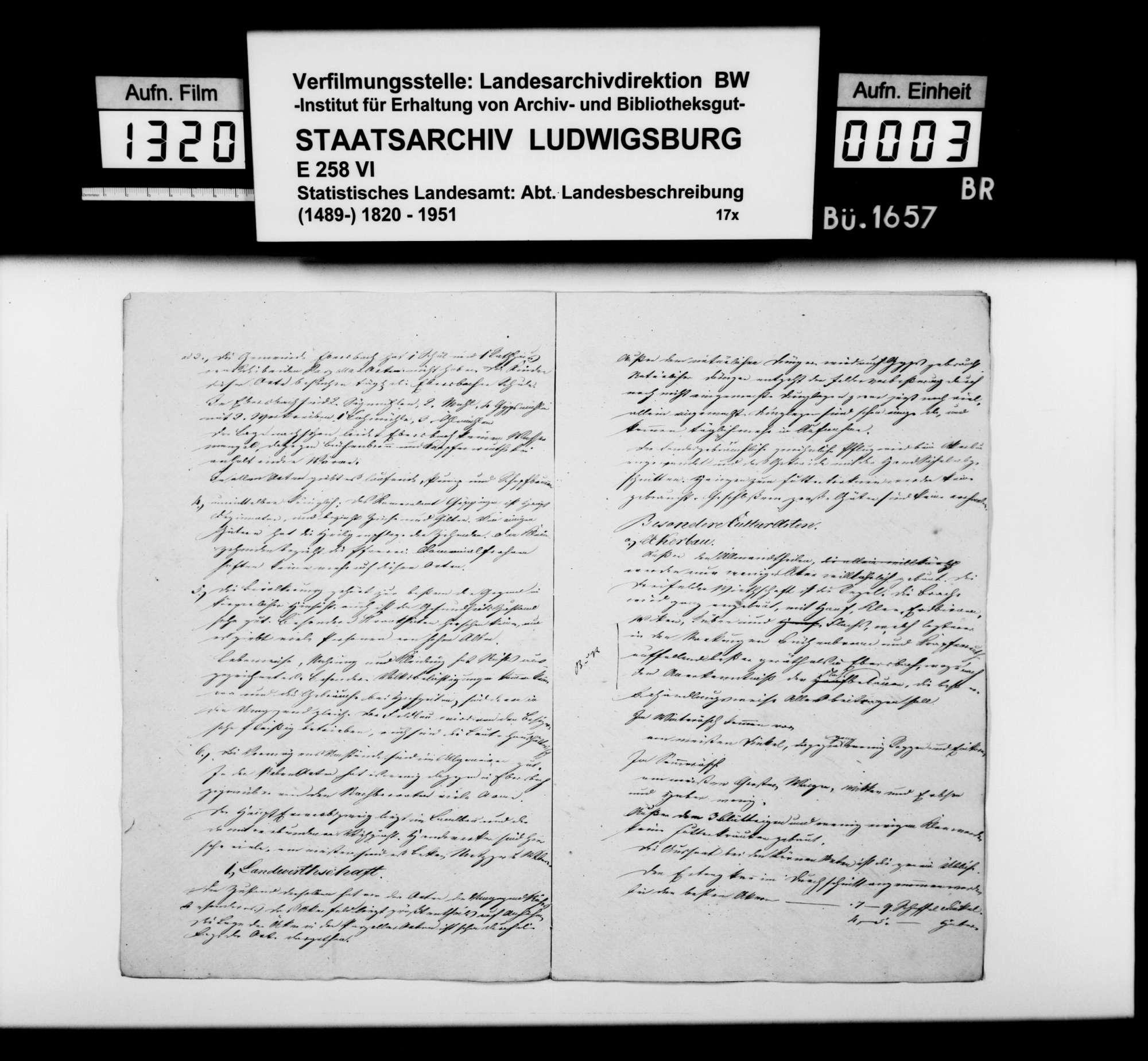 Notizen zur Beschreibung von Ebersbach mit Büchenbronn und Krapfenreut nach dem Fragenkatalog des STBs (wie oben bei Bezgenriet), Bild 2