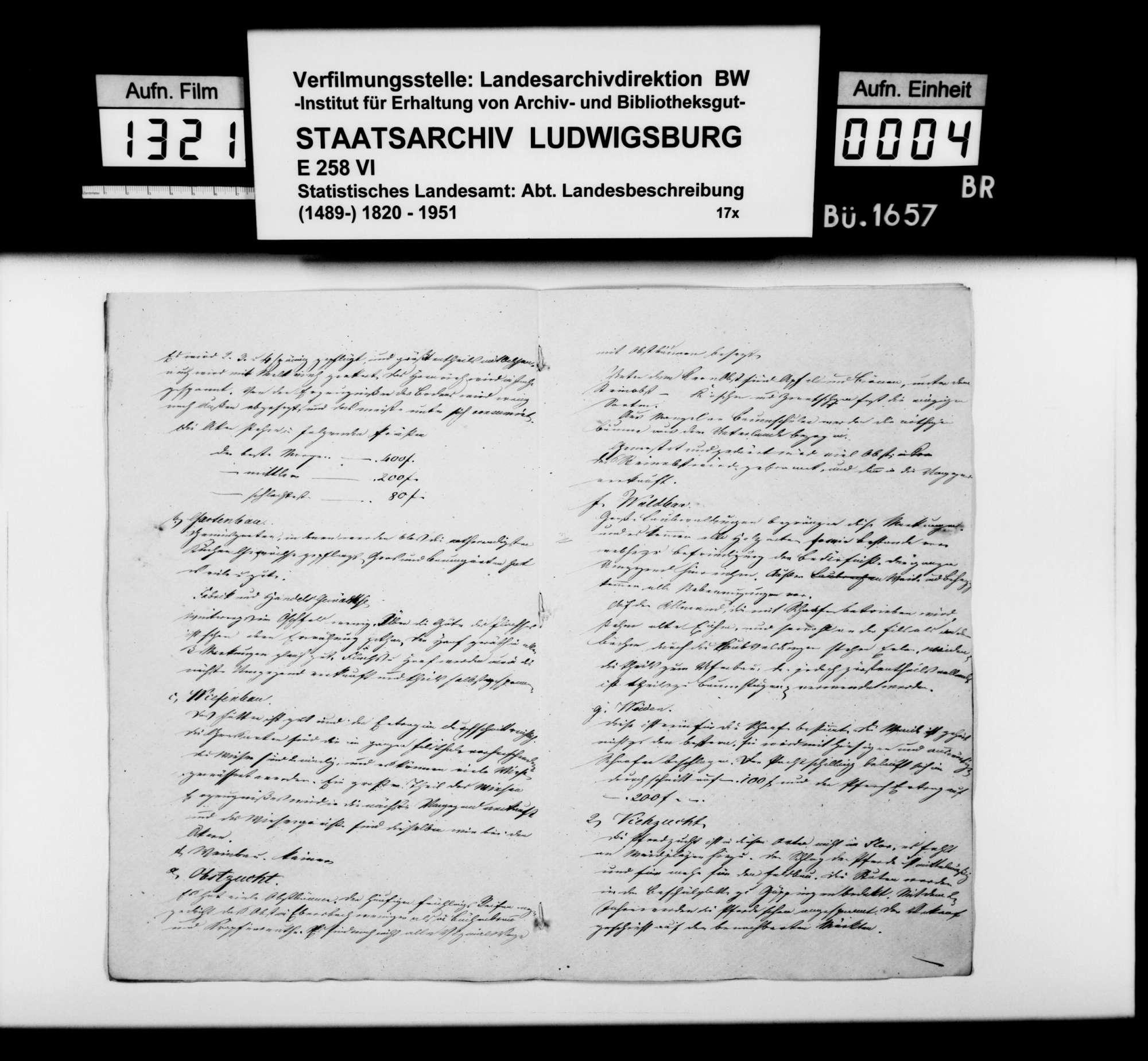Notizen zur Beschreibung von Ebersbach mit Büchenbronn und Krapfenreut nach dem Fragenkatalog des STBs (wie oben bei Bezgenriet), Bild 3