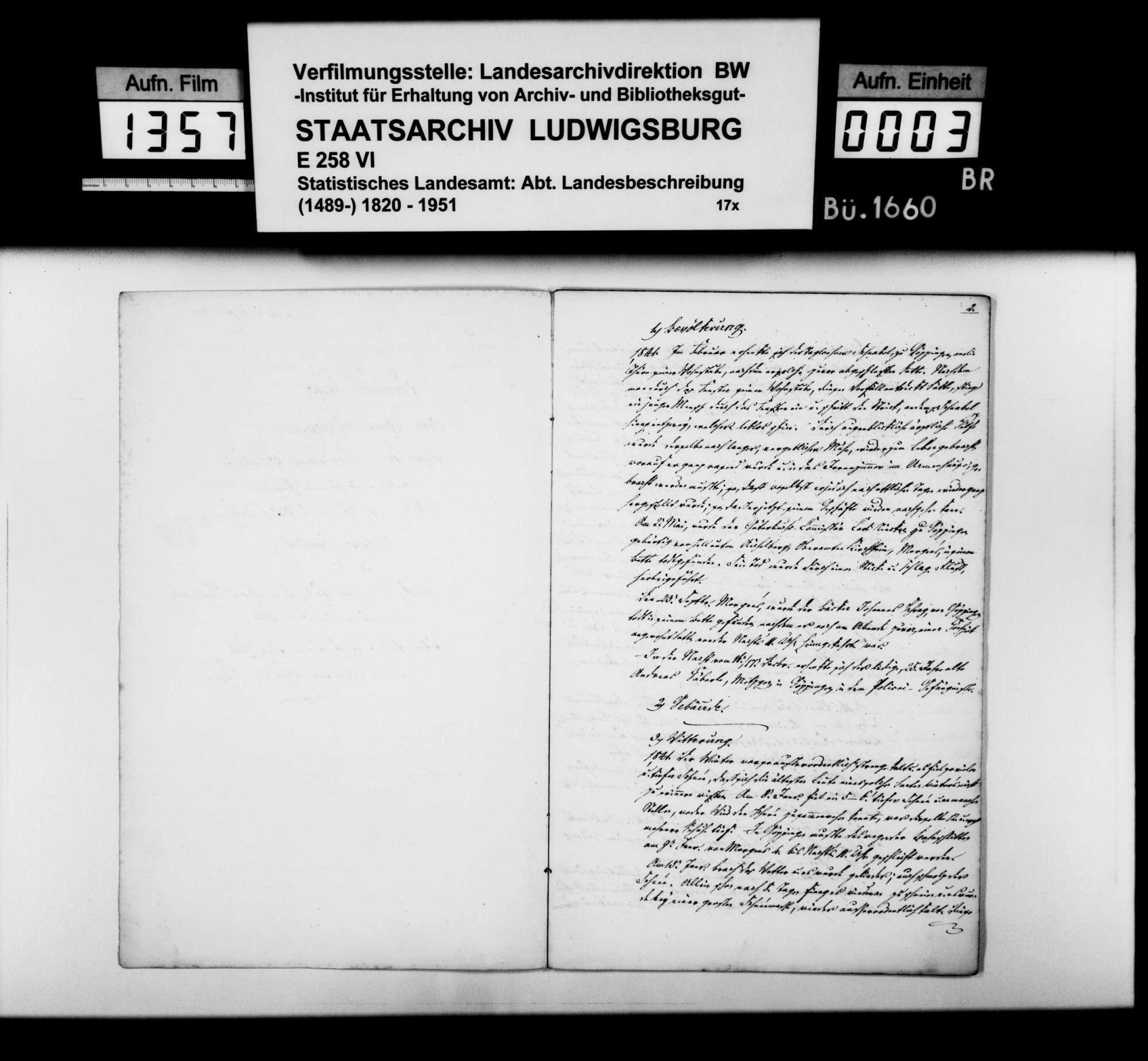 Jahreschronik der Stadt Göppingen für die Jahre 1841 und 1842, von Oberamtsarzt Dr. von Hartmann, Bild 2