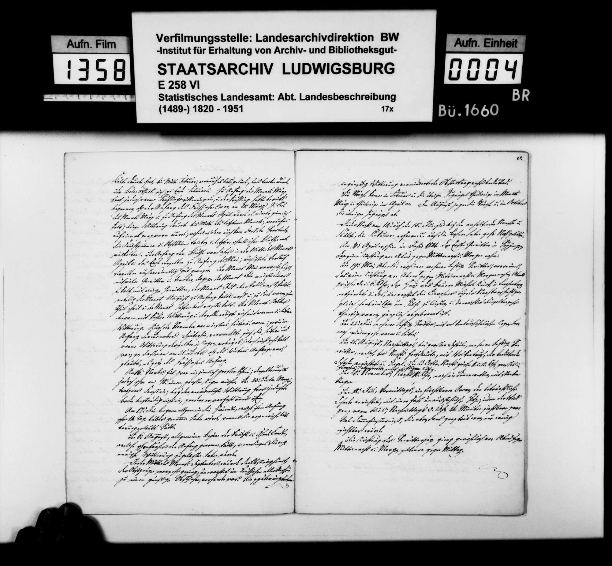 Jahreschronik der Stadt Göppingen für die Jahre 1841 und 1842, von Oberamtsarzt Dr. von Hartmann, Bild 3