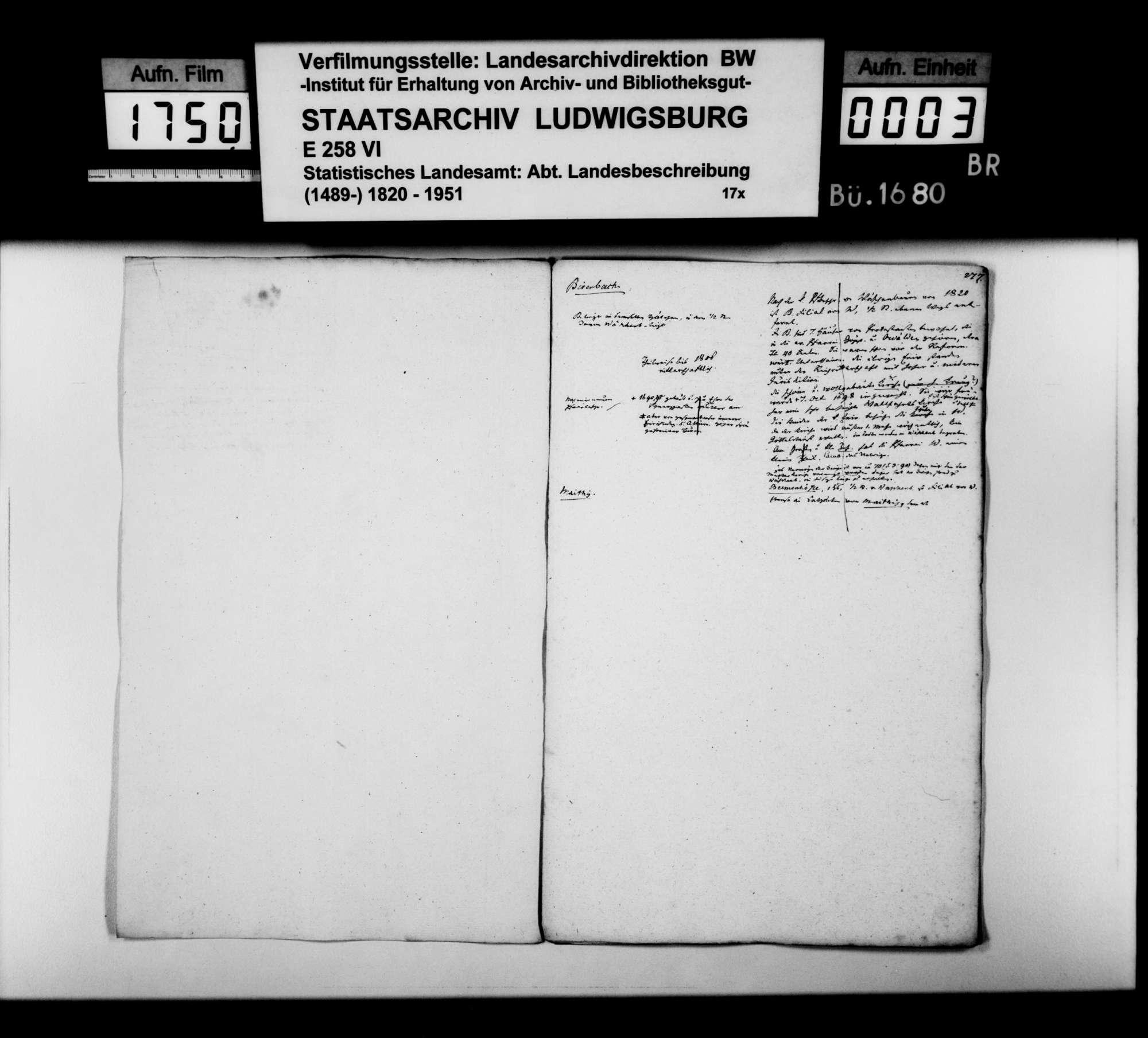 Desgleichen von Birenbach; fol. 276-284, Bild 2