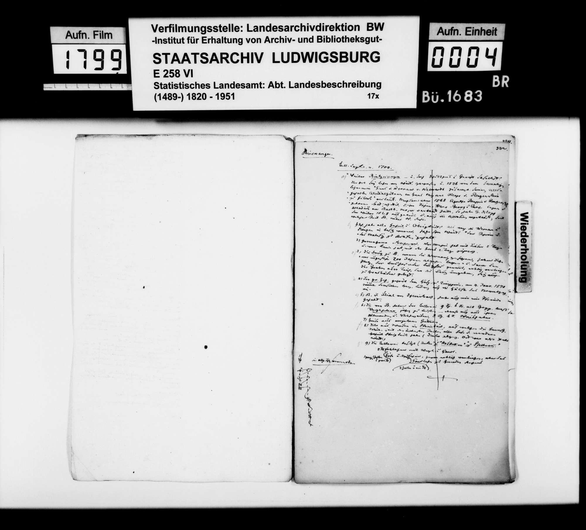 Desgleichen von Bünzwangen; fol. 321-328, Bild 2