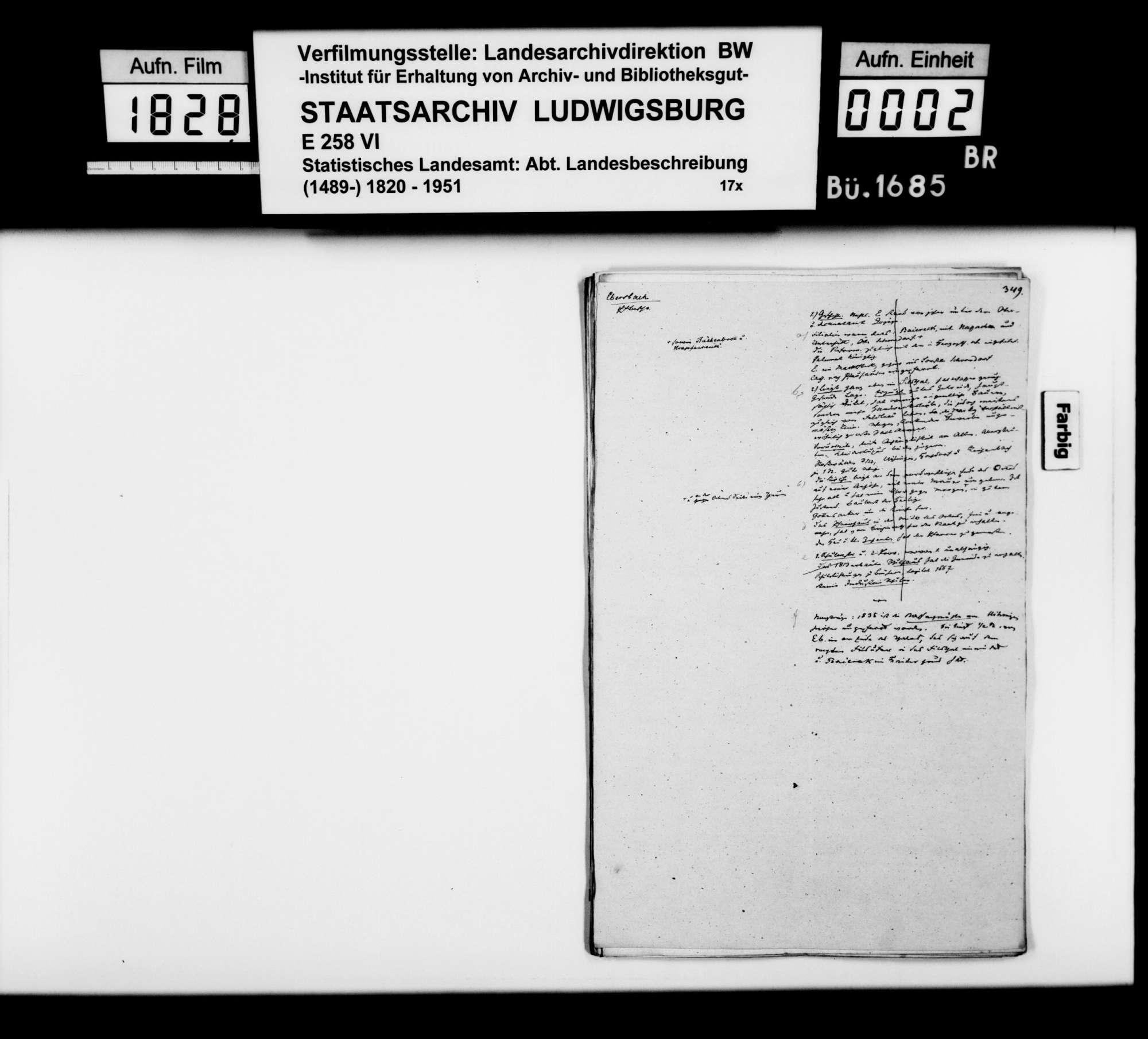 Desgleichen von Ebersbach; fol. 349-370, Bild 1