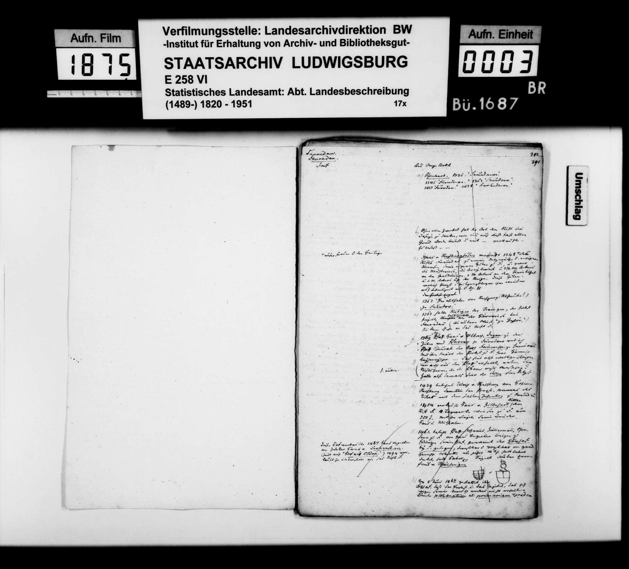 Desgleichen von Faurndau; fol. 390- [415b], Bild 2