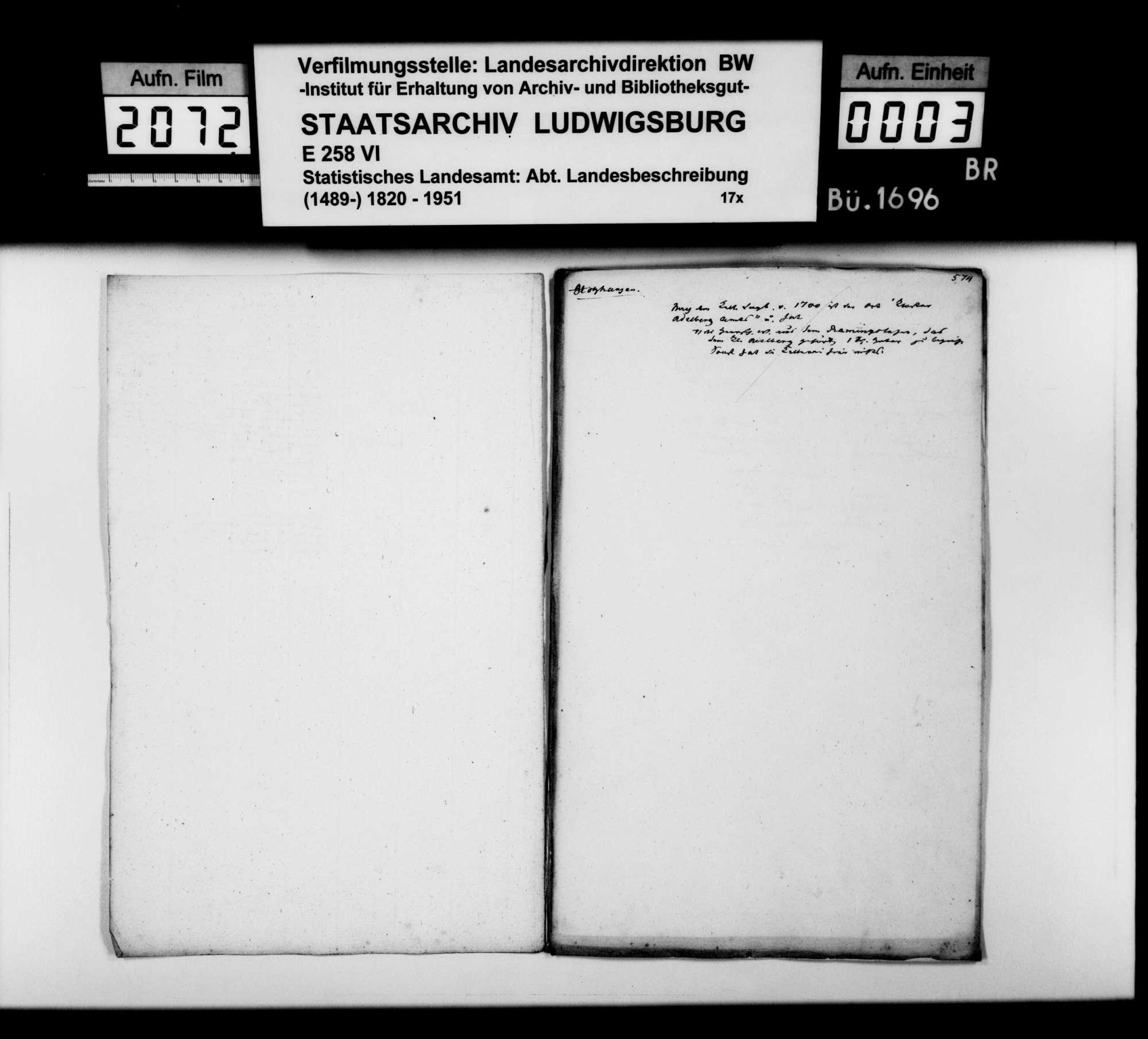 Desgleichen von Holzhausen; fol. 573-580, Bild 2