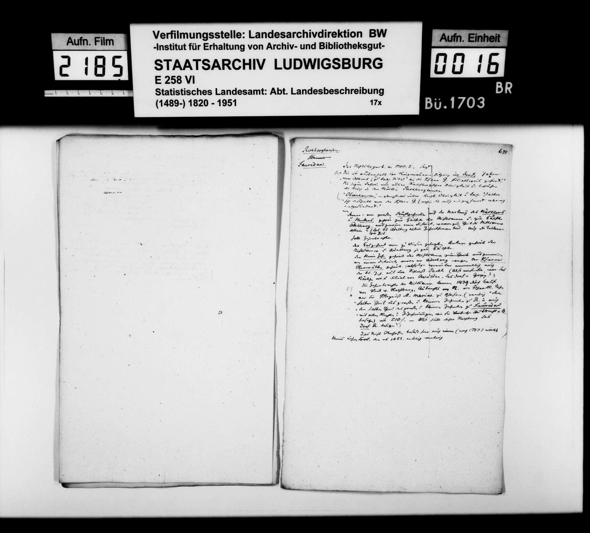 Desgleichen von Rechberghausen; fol. 655-673, Bild 2