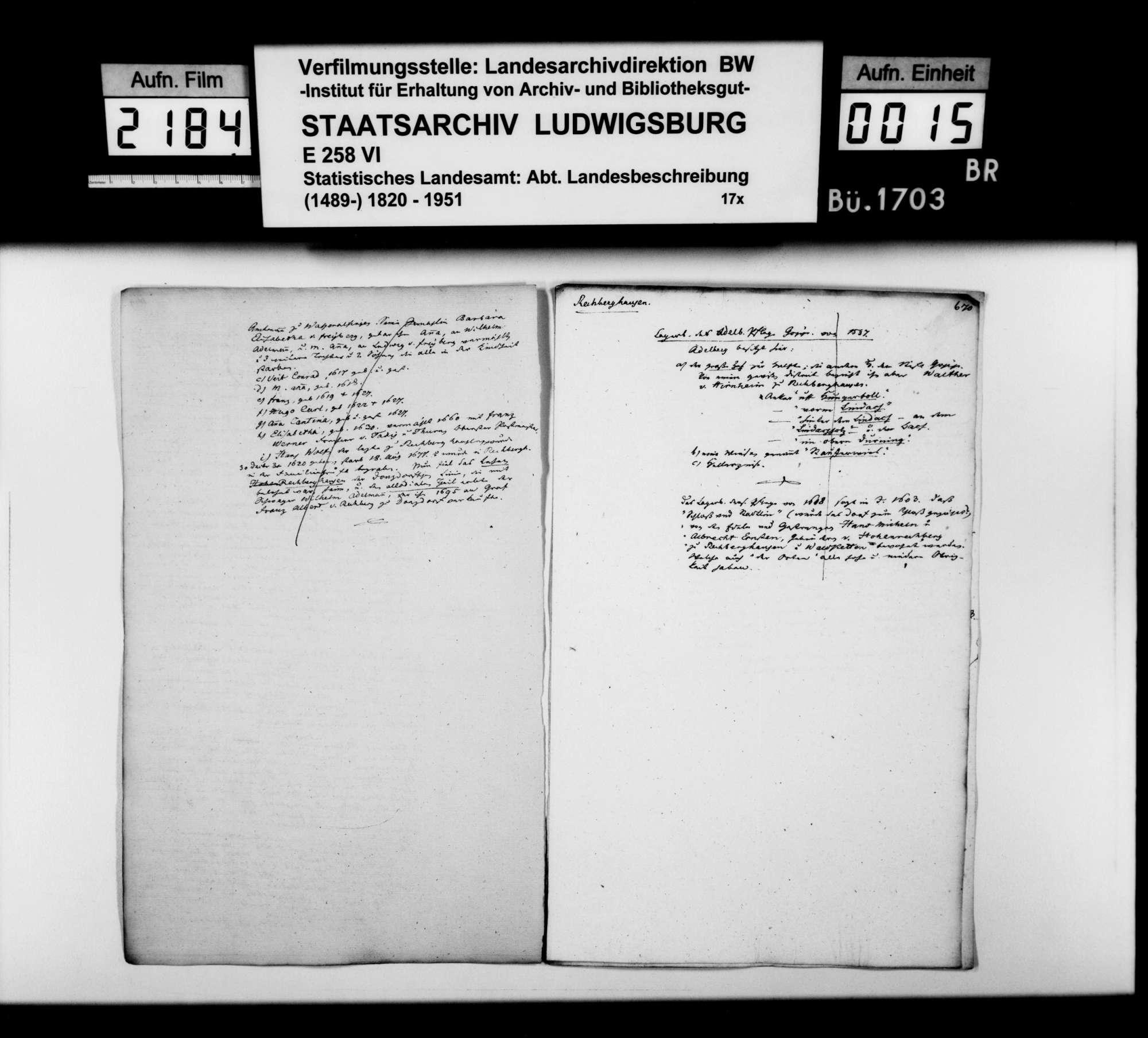 Desgleichen von Rechberghausen; fol. 655-673, Bild 3