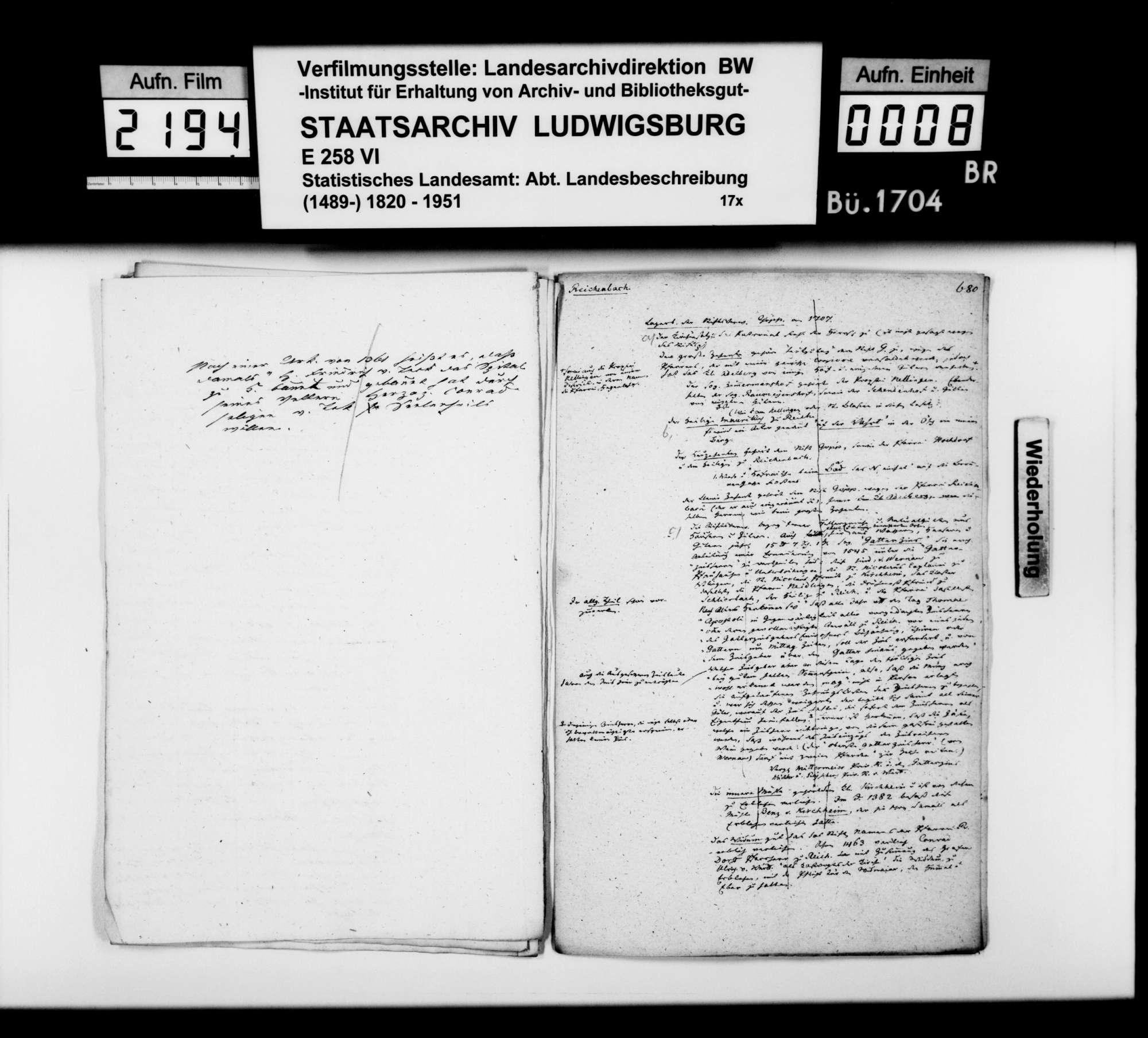 Desgleichen von Reichenbach; fol. 674-682, Bild 3
