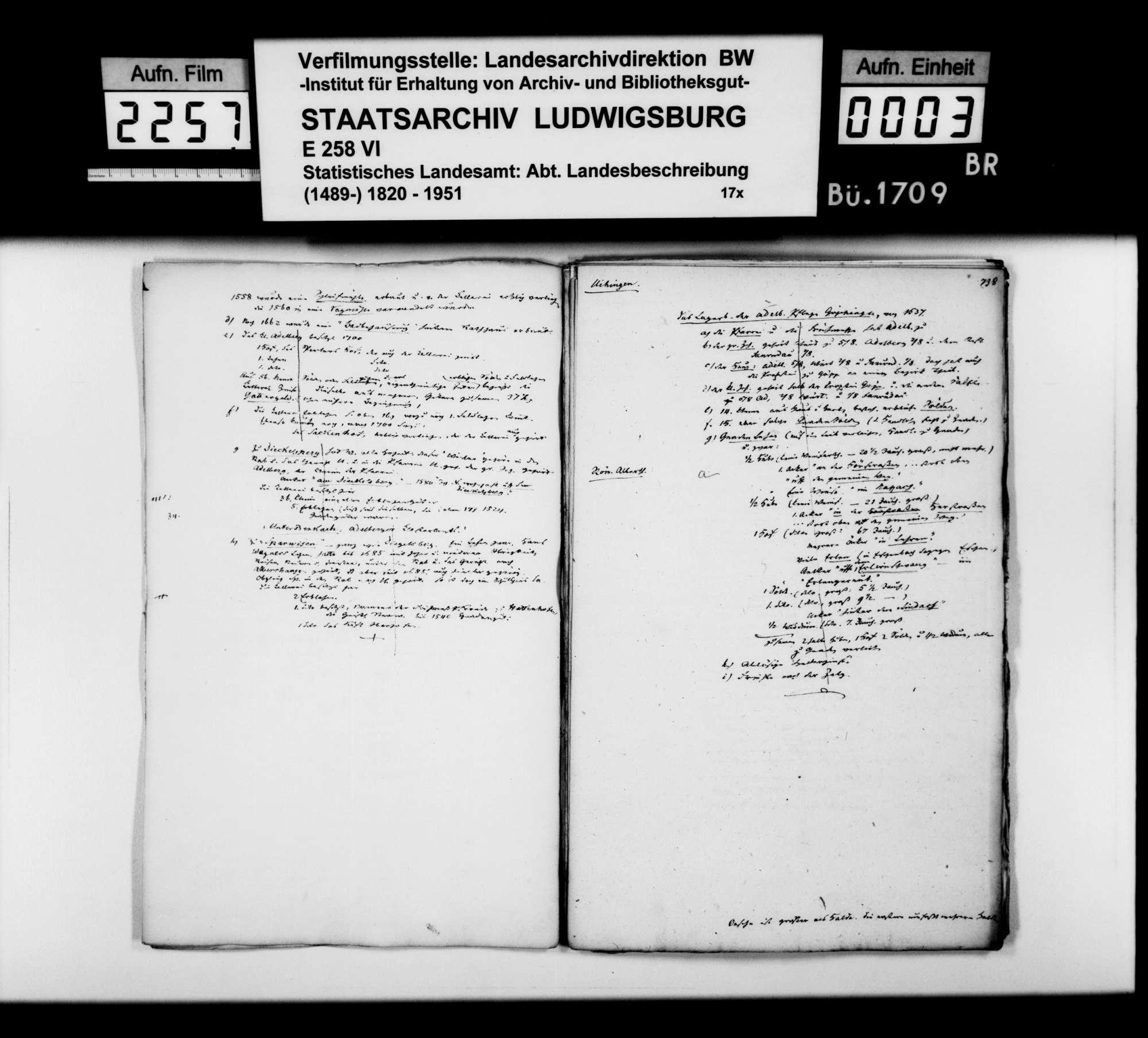 Desgleichen von Uhingen; fol. 736-757, Bild 2