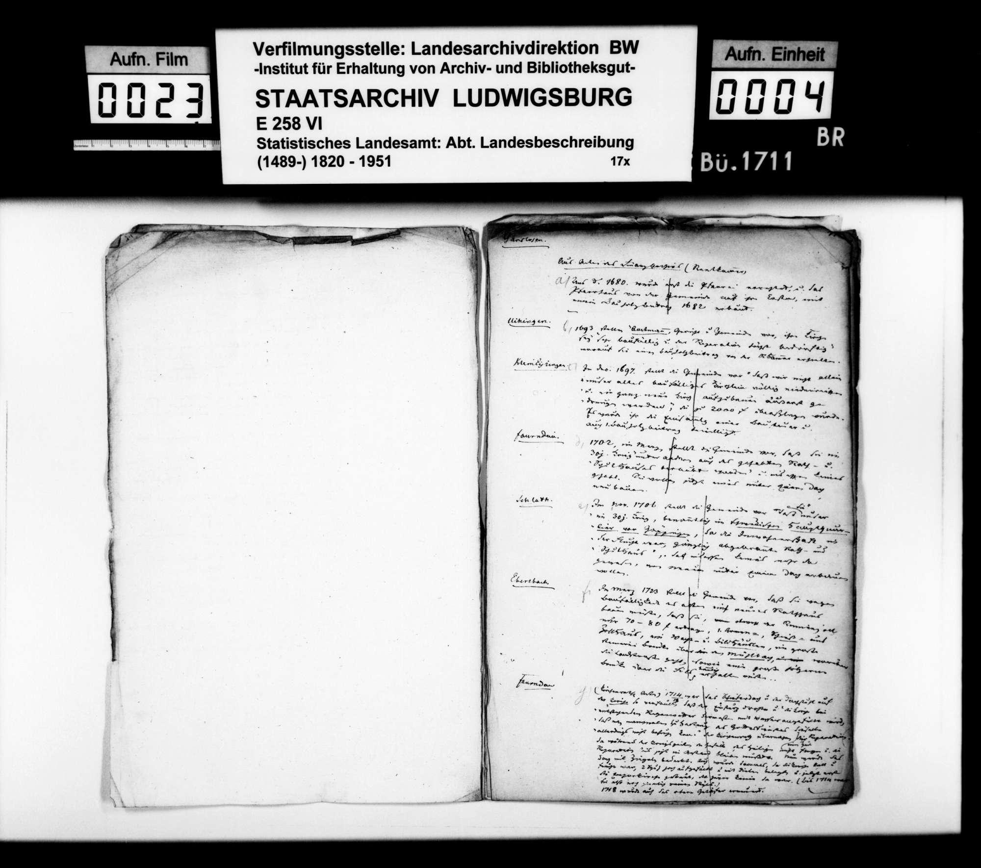 Desgleichen von verschiedenen Oberamtsorten; fol. 770-782, Bild 3