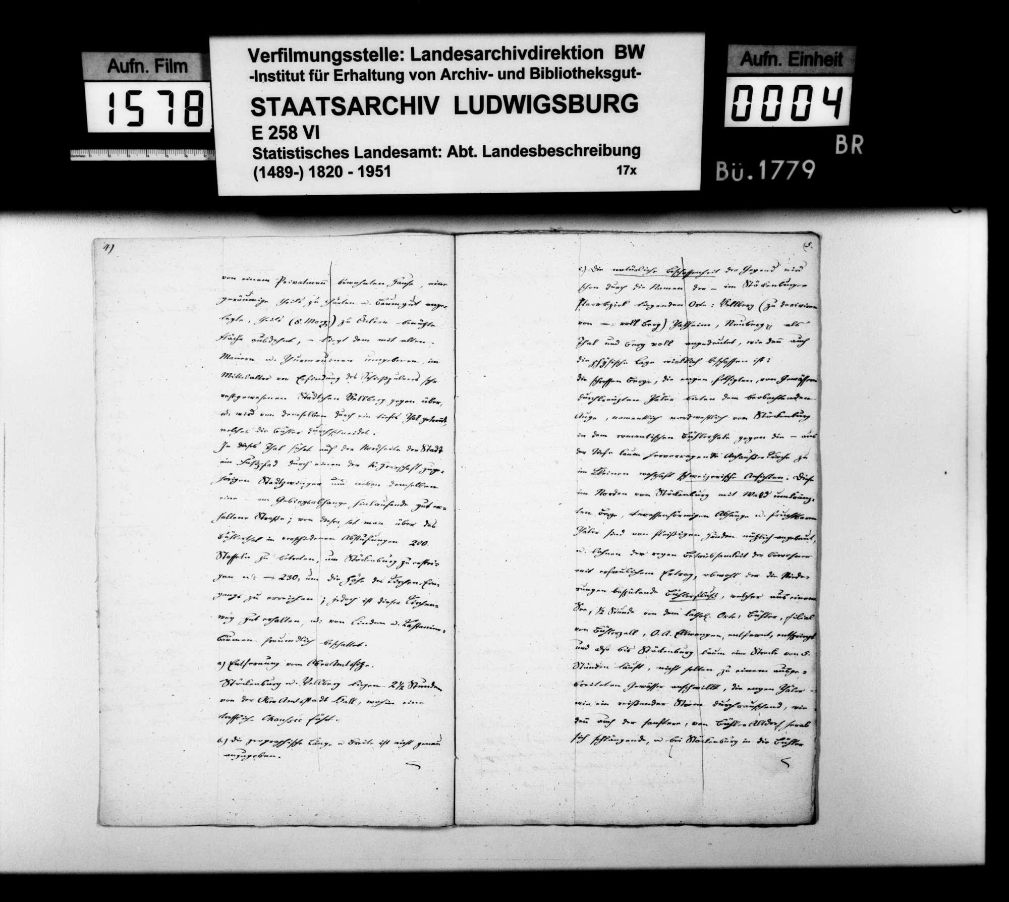 Beschreibung des Pfarrbezirks Stöckenburg von Pfarrer Renner nach den Themen wie oben bei Anhausen, Bild 3