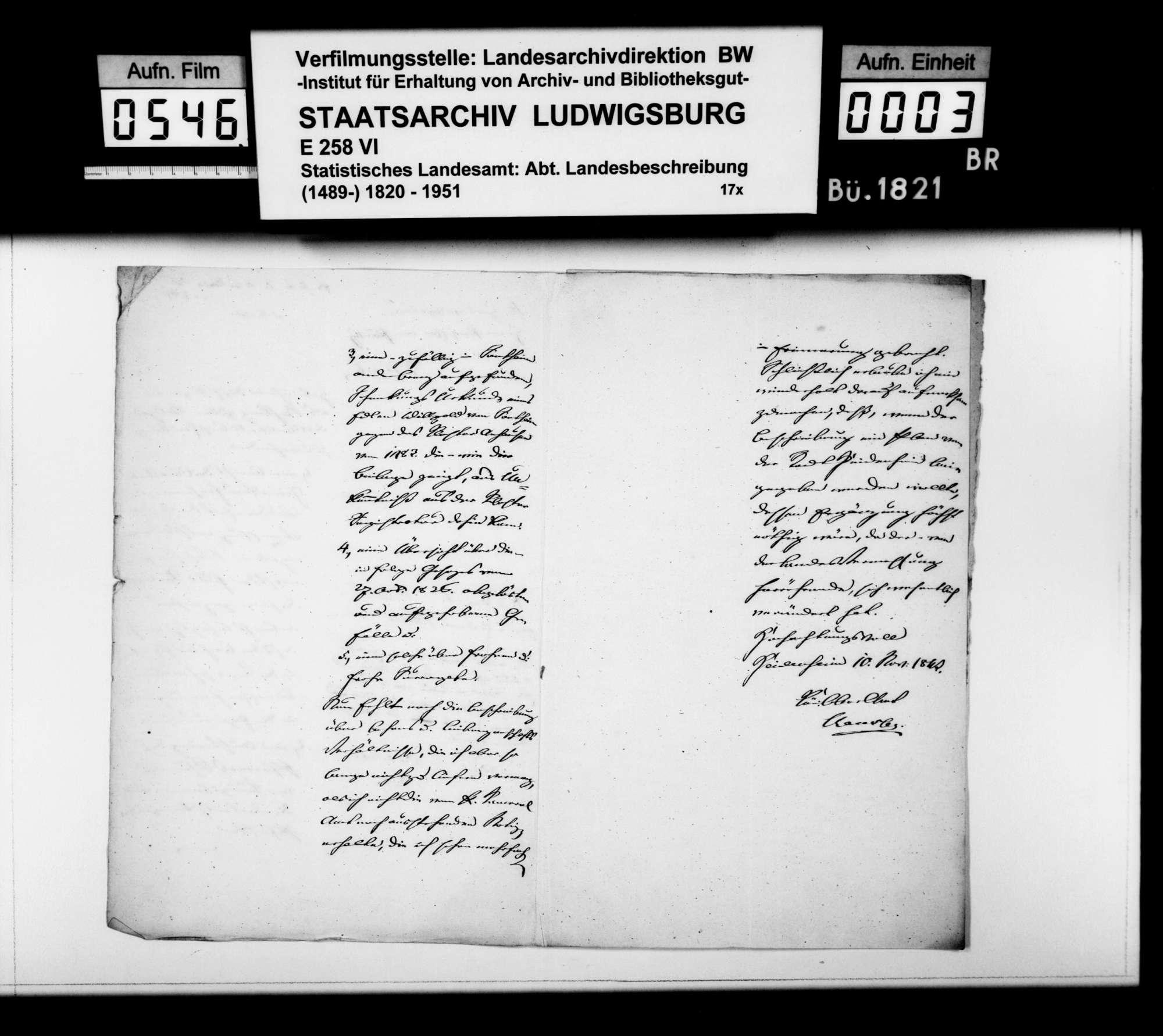 Abhandlung des Pfarrers Schumann aus Königsbronn über den Ursprung des Flüßchens Pfeffer, Bild 2