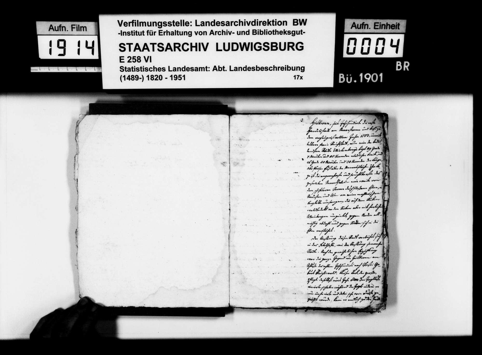 Beschreibung der Stadt Heilbronn, von Pfarrer [Karl Christian] Gratianus [ab ca. 1813 in Hengen], Bild 3