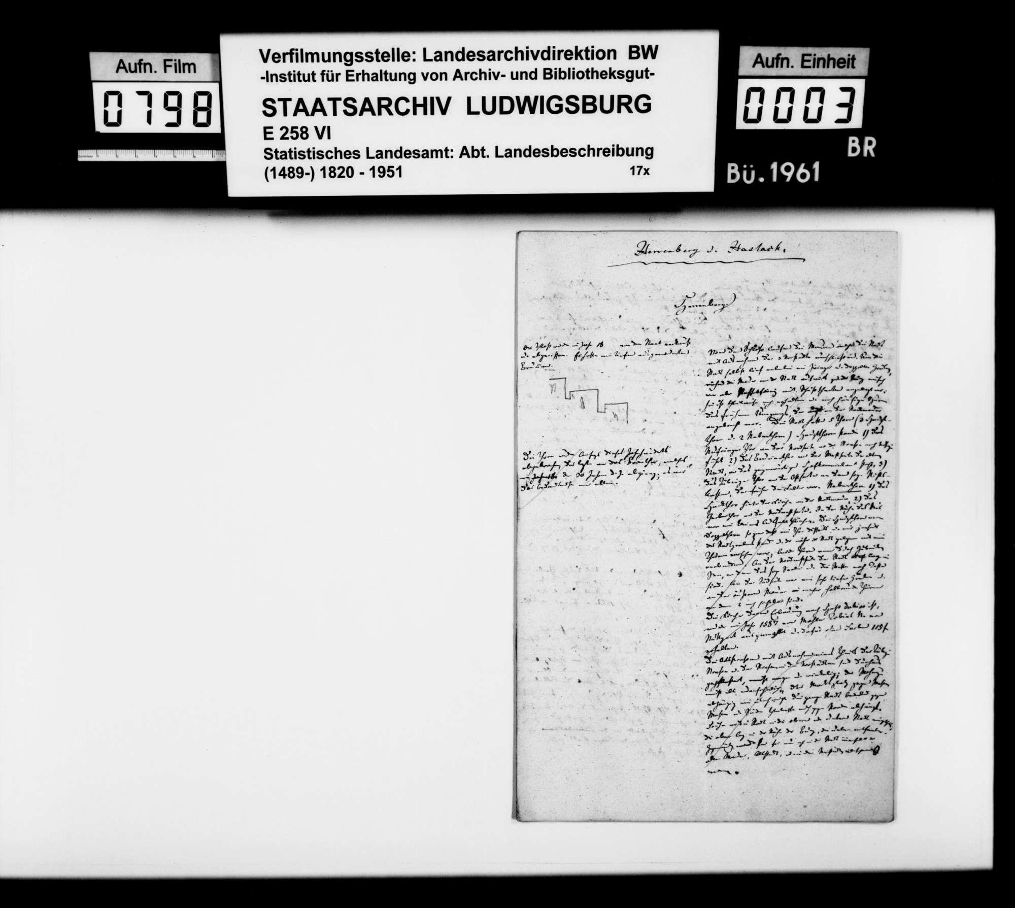 Beschreibung der Gemeinden Herrenberg und Haslach [durch Paulus], Bild 2
