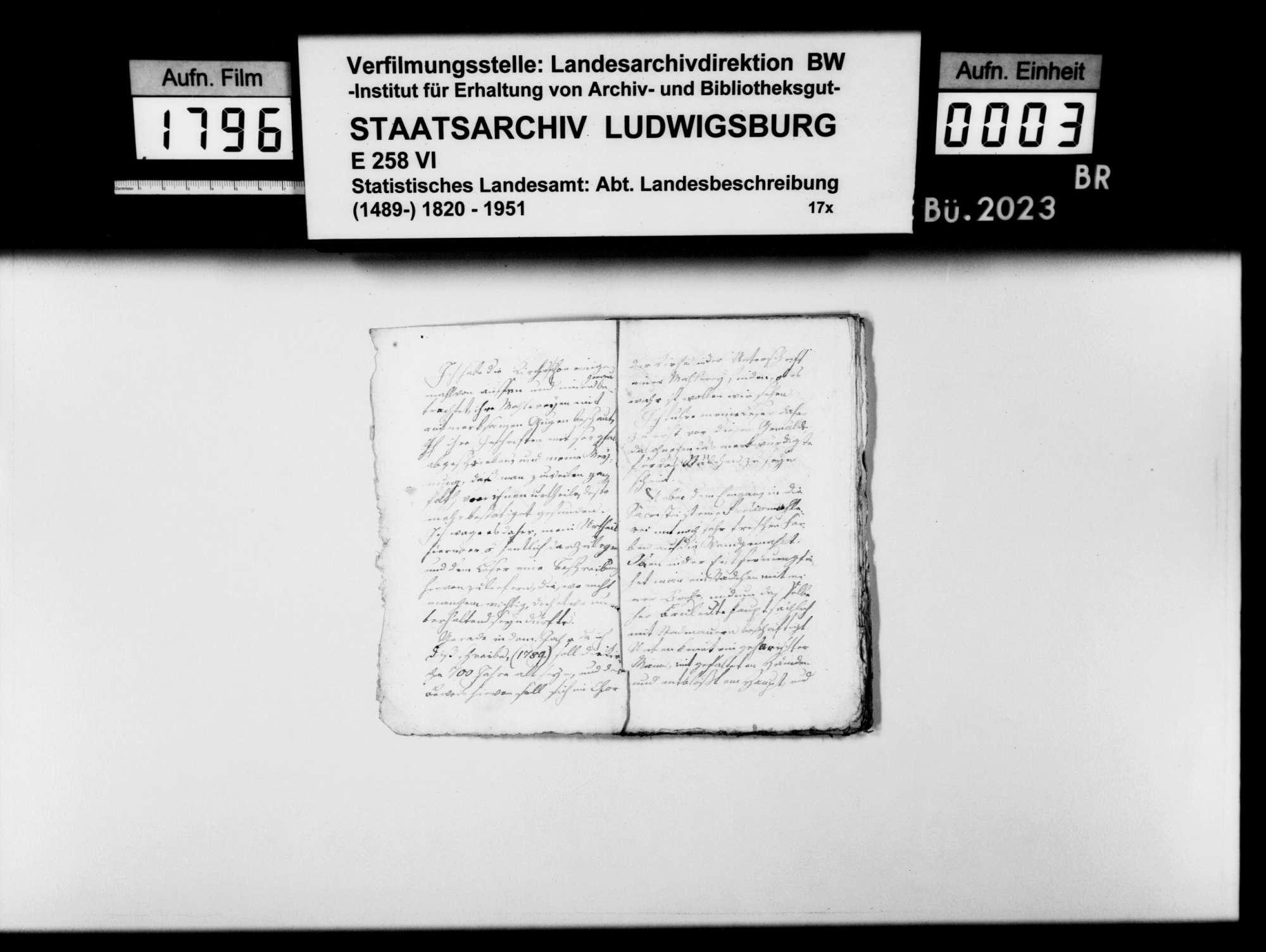 Kollektaneen des Pfarrers Köhler aus Marschalkenzimmern zur Geschichte der Stadt Kirchheim, Bild 2