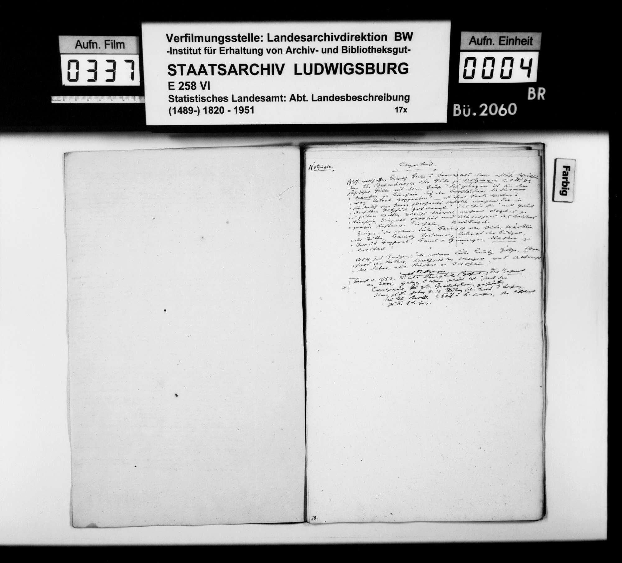 Ortsbeschreibung von Notzingen, Bild 3