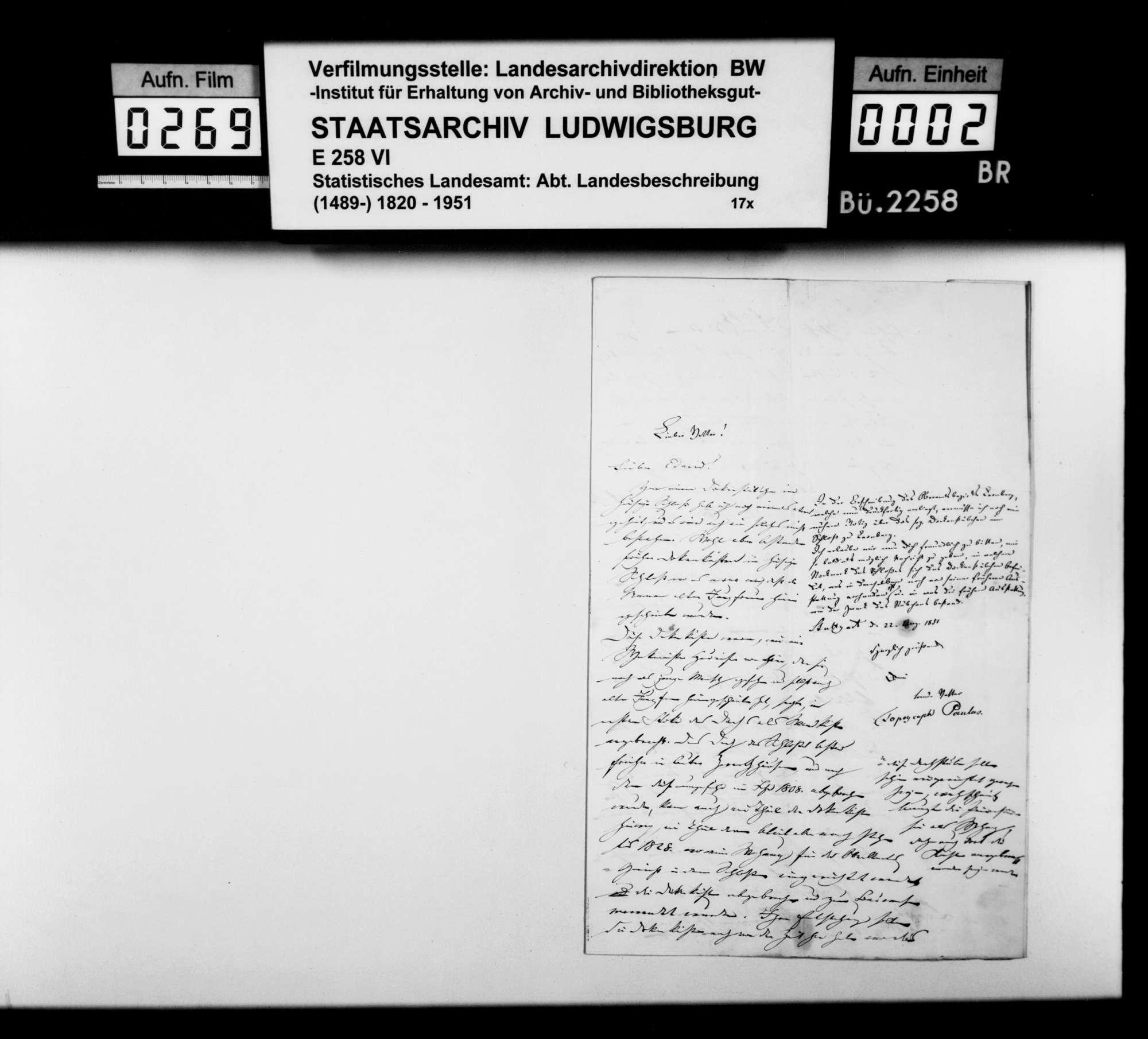 Mitteilung über die sogenannten Dockenkästen im Leonberger Schloß, Bild 1