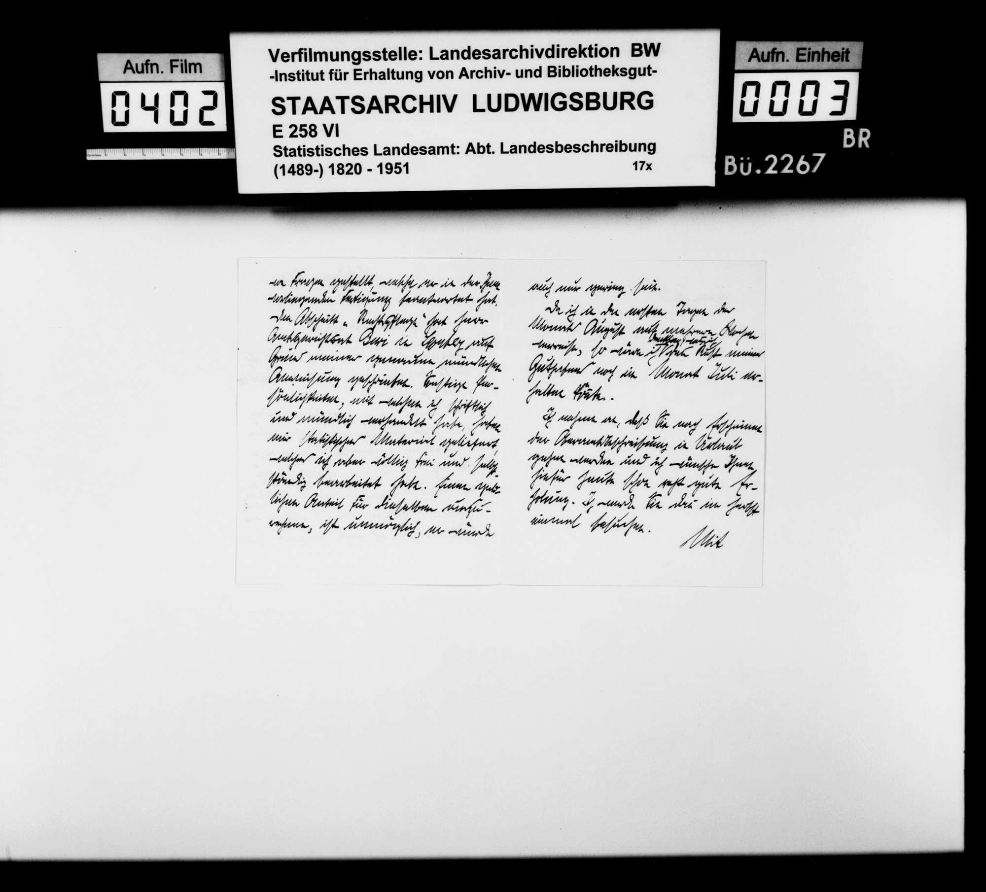 Druckvorlagen und Probedrucke der Abbildungen (Fotos und Zeichnungen) für die Neubearbeitung der OAB 1930, Bild 2