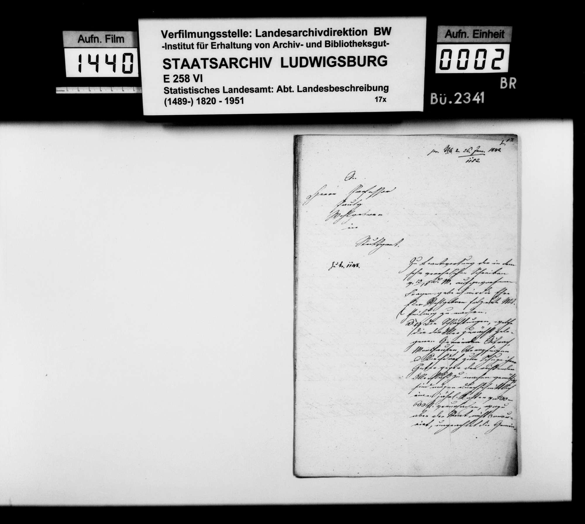 Klärung offener Fragen zur OAB durch Oberamtmann Weber, Bild 1
