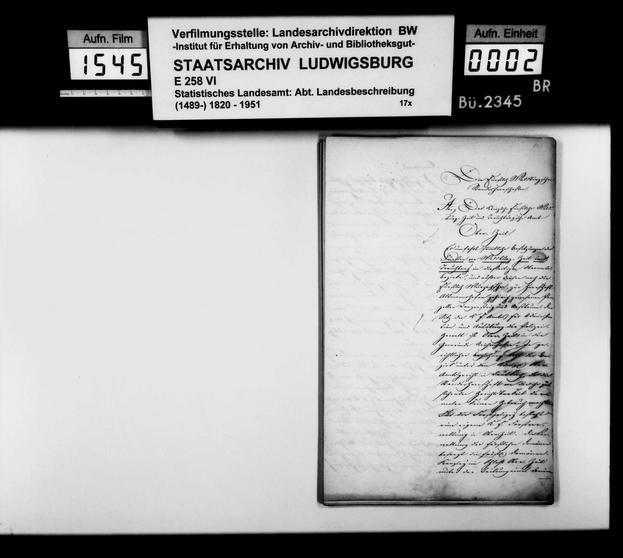 Beschreibung des Waldburg-Zeil-Trauchburg
