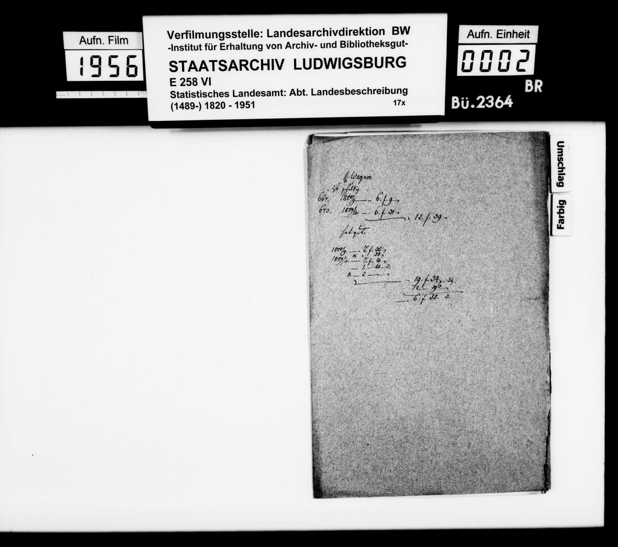 Exzerpte [des Landschaftsregistrators Schönleber] aus Rechnungen u.dgl. des Hoffaktors Josef Oppenheimer von 1736/37, Bild 1
