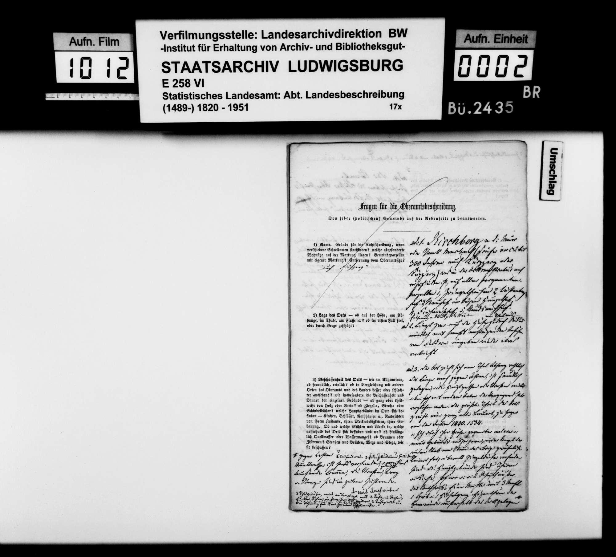 Desgleichen von Kirchberg, Bild 1