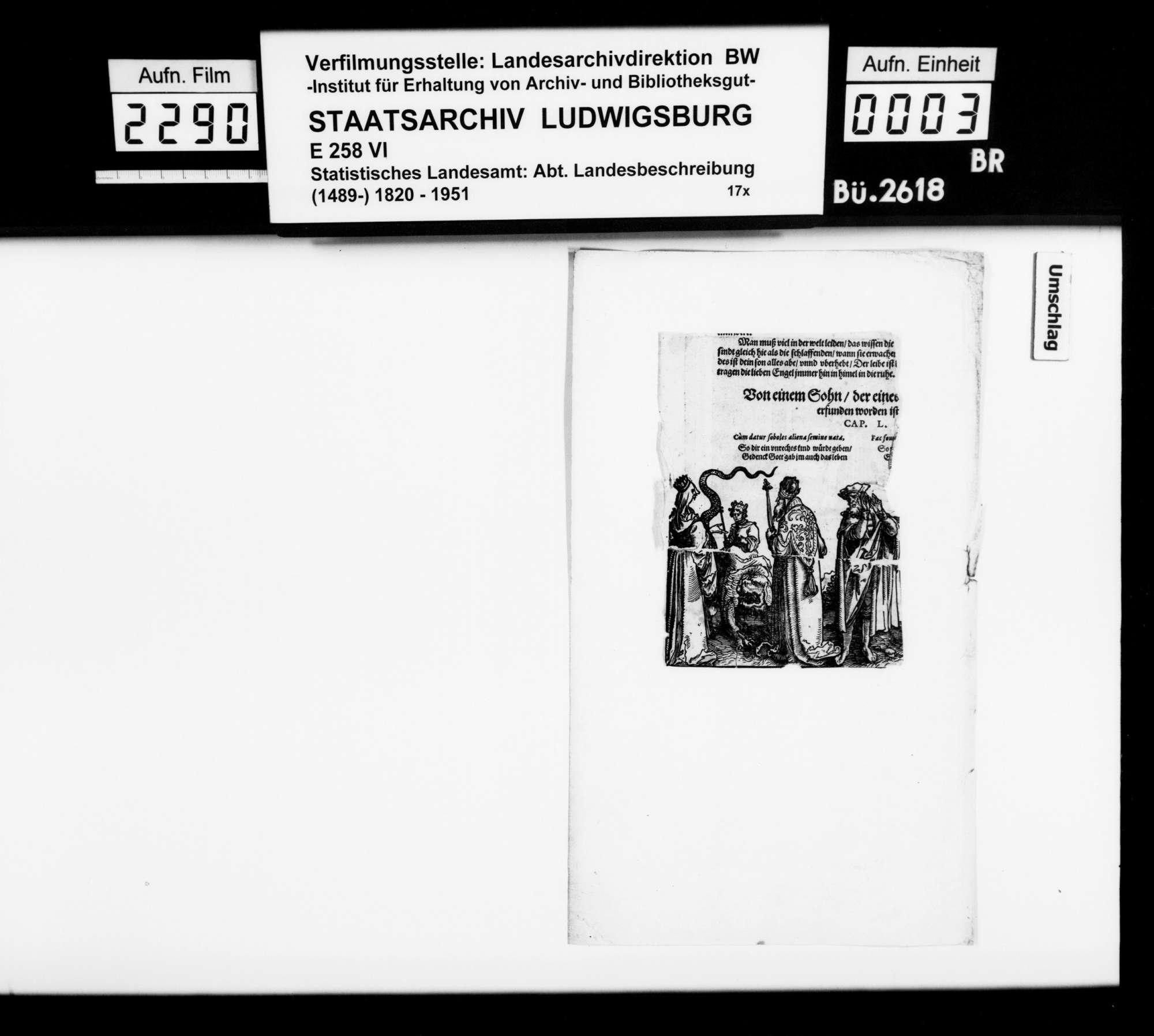 Notizen zu verschiedenen Themen, überwiegend aus der Sammlung des OAsarztes von Mergentheim Christian Friedrich Bauer, mit dem Nachlaß seines 1872 verstorbenen Sohnes Hermann erworben, Bild 2