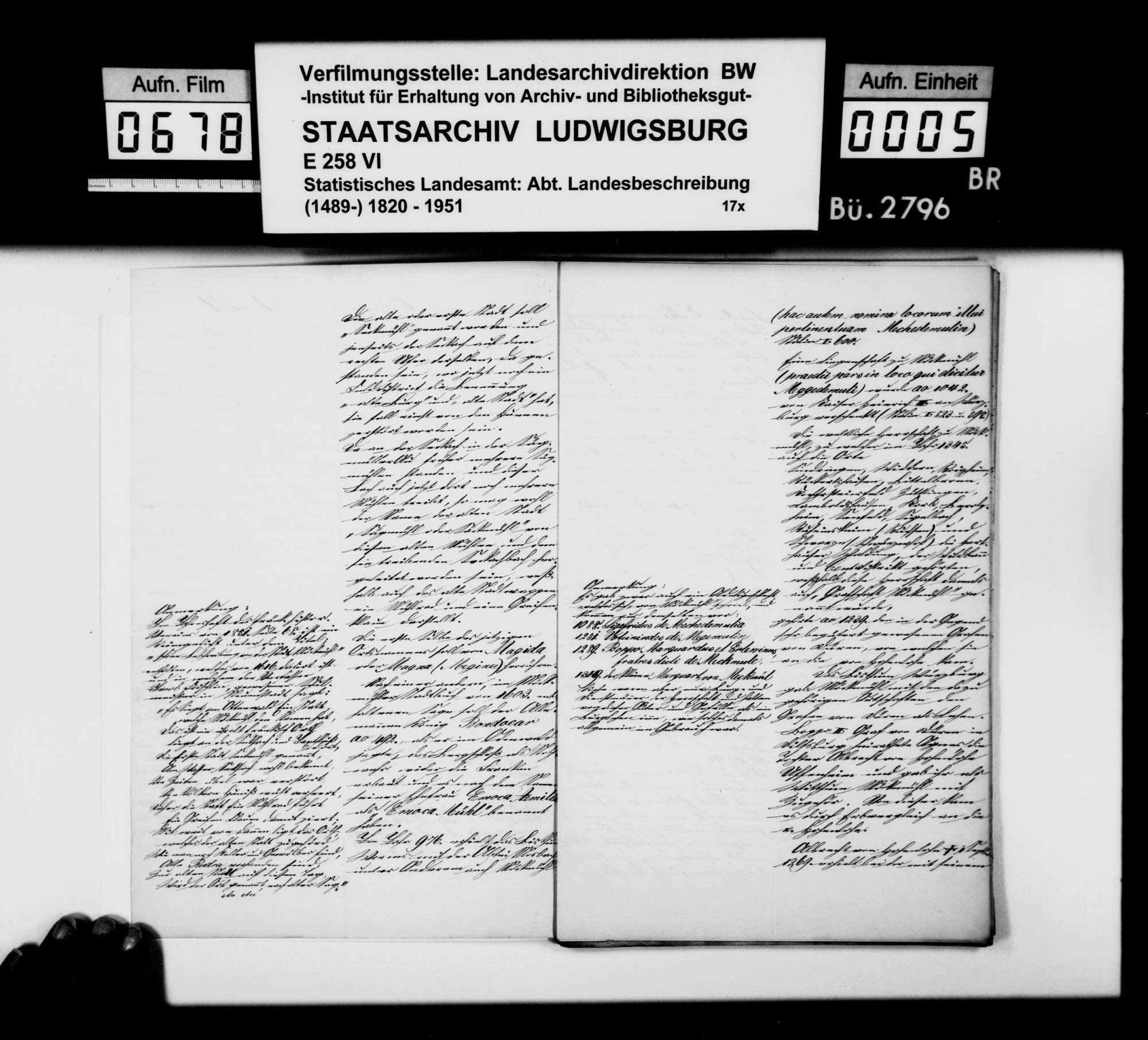 Geschichte von Möckmühl, von Finanzrath Roth aus Neuenstadt, Bild 3
