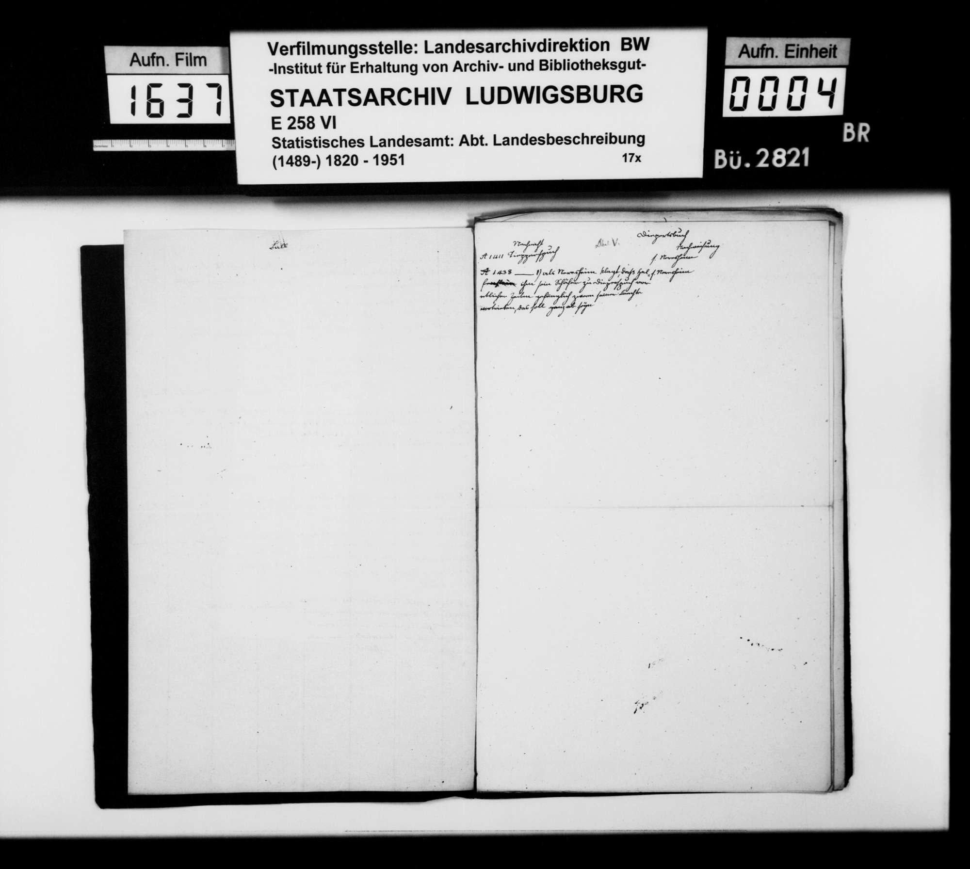 Kollektaneen des Finanzreferendärs Jäger zur mittelalterlichen Besitz- und Herrschaftsgeschichte im Oberamt, Bild 3