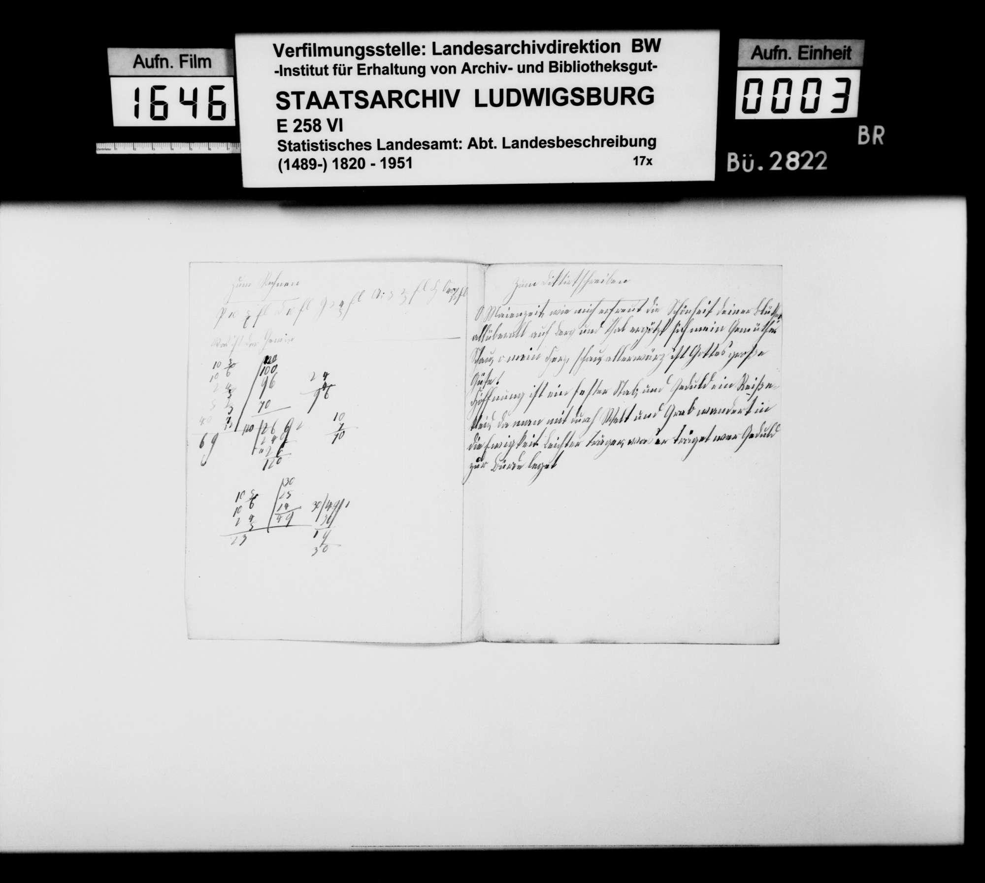 Kurzregesten, Notizen u.dgl. des [Christoph Friedrich] Stälin zur mittelalterlichen Besitz- und Herrschaftsgeschichte im Oberamtsbezirk, Bild 2