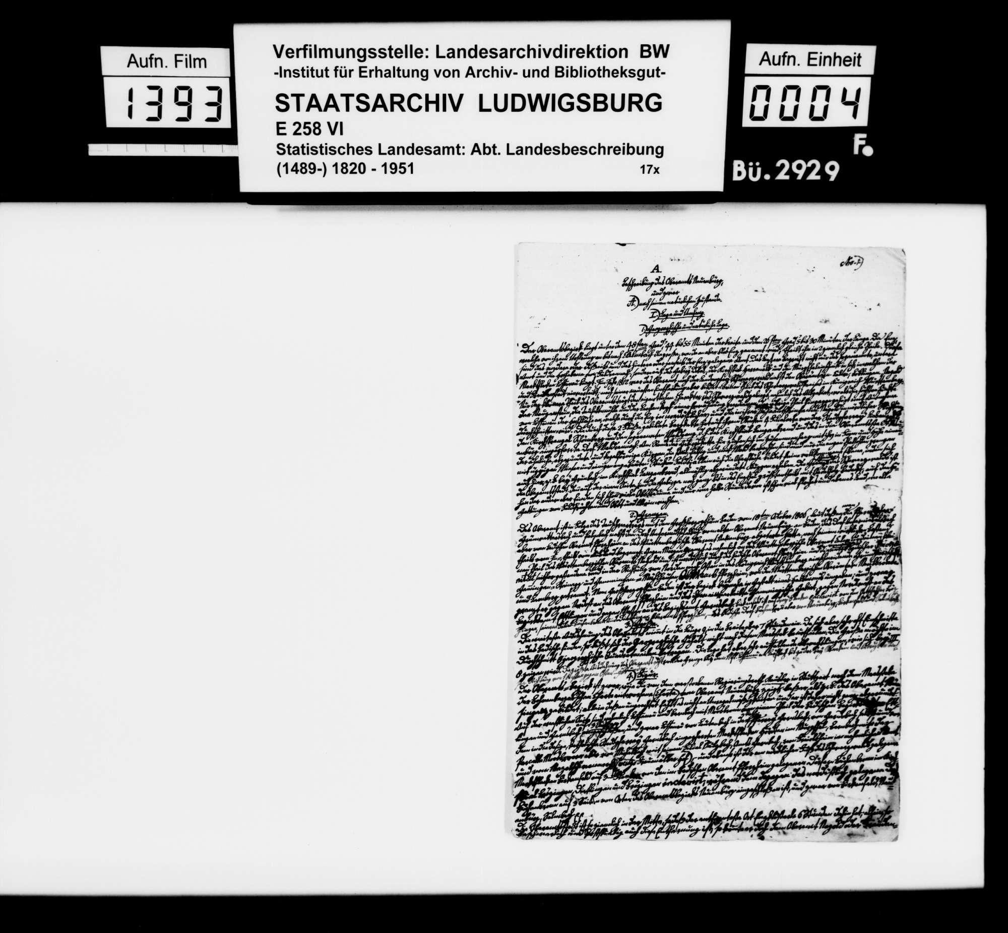 Beiträge des Pfarrers Abel aus Ottenhausen, dann Goldburghausen [Oberamt Neresheim] zur OAB, Bild 3