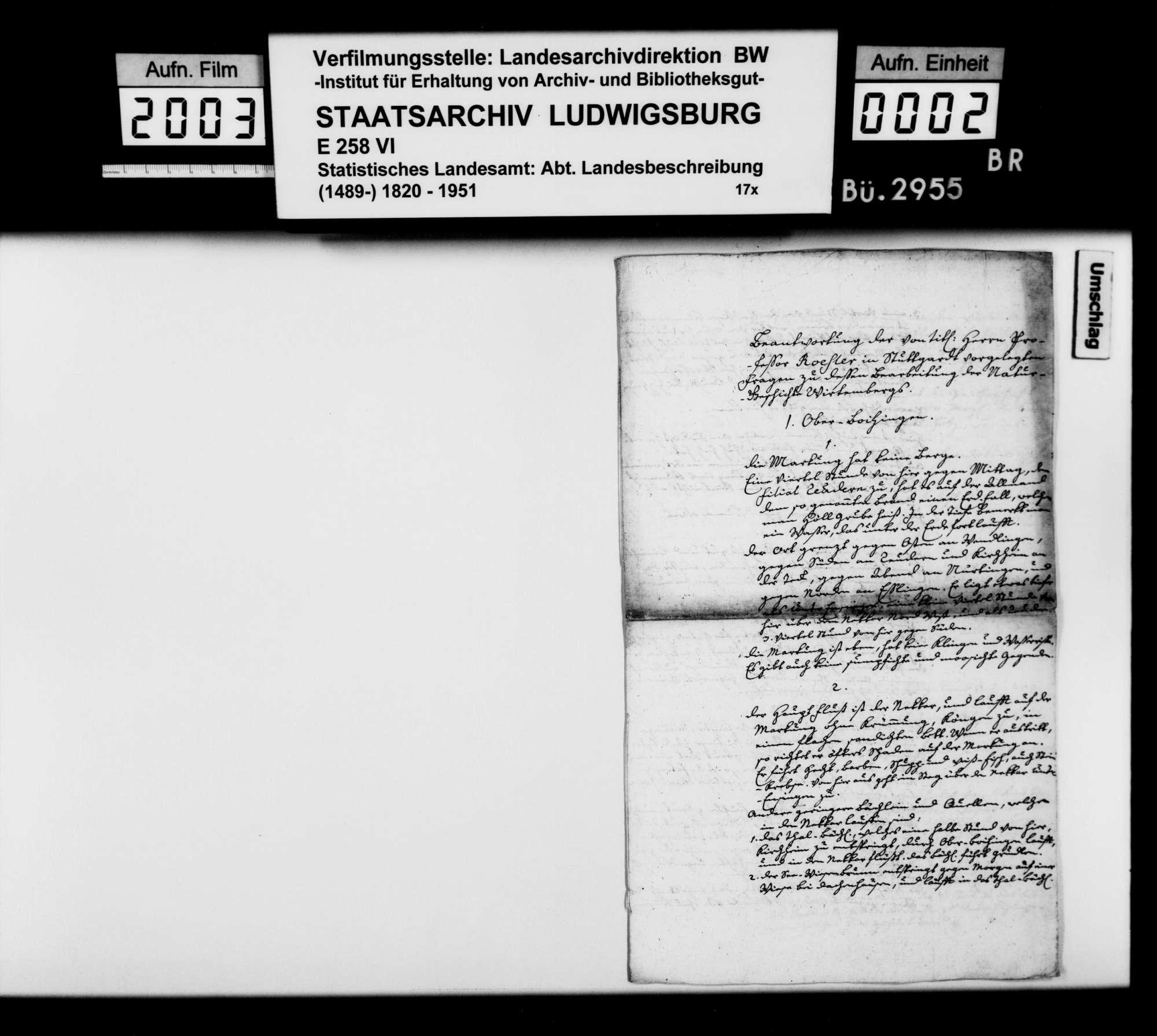 Desgleichen, Pfarrer Eberhard Friedrich Hiemer zu Oberboihingen, Bild 1