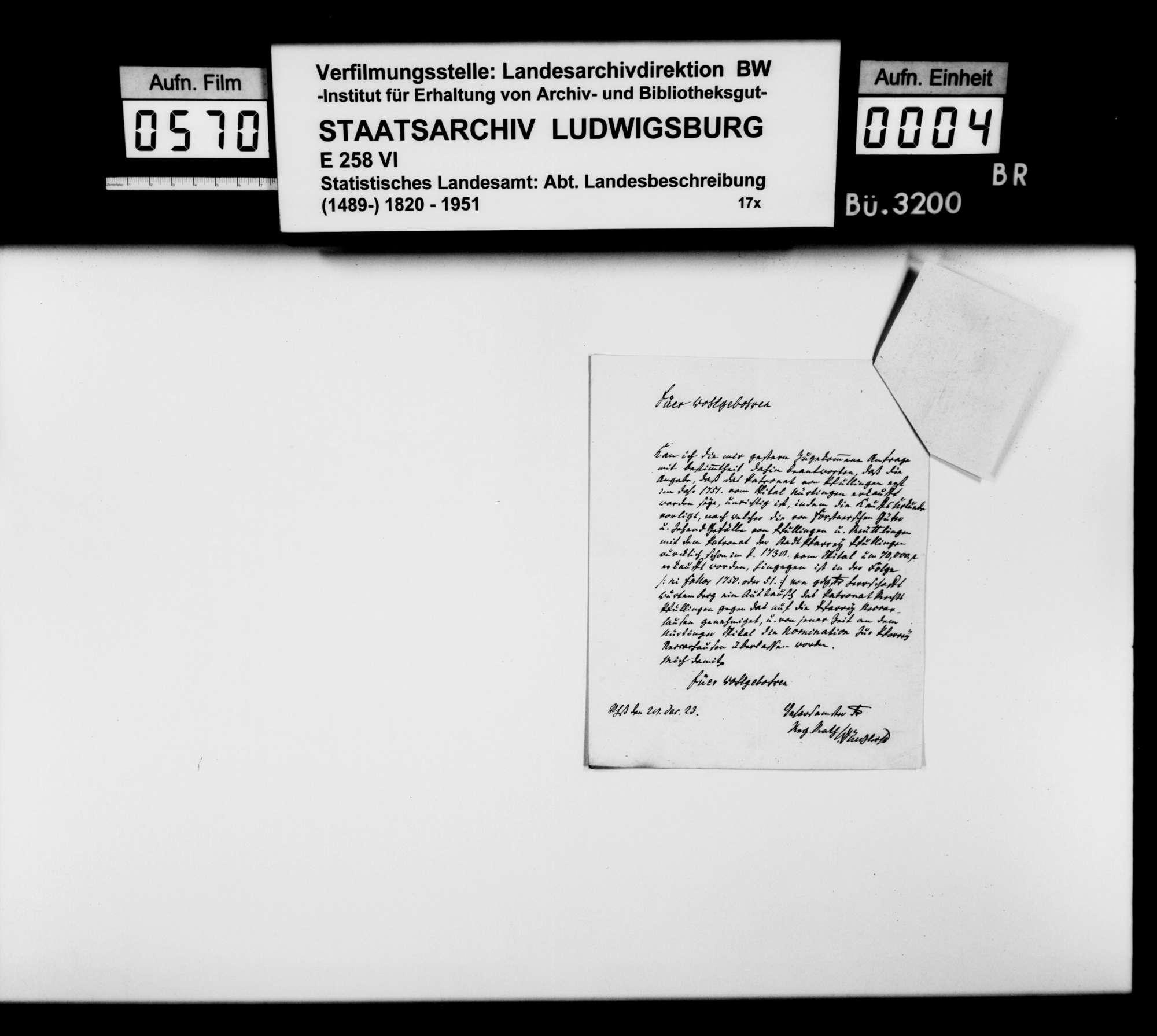 Korrespondenz zur Klärung offener Fragen der OAB, Bild 2