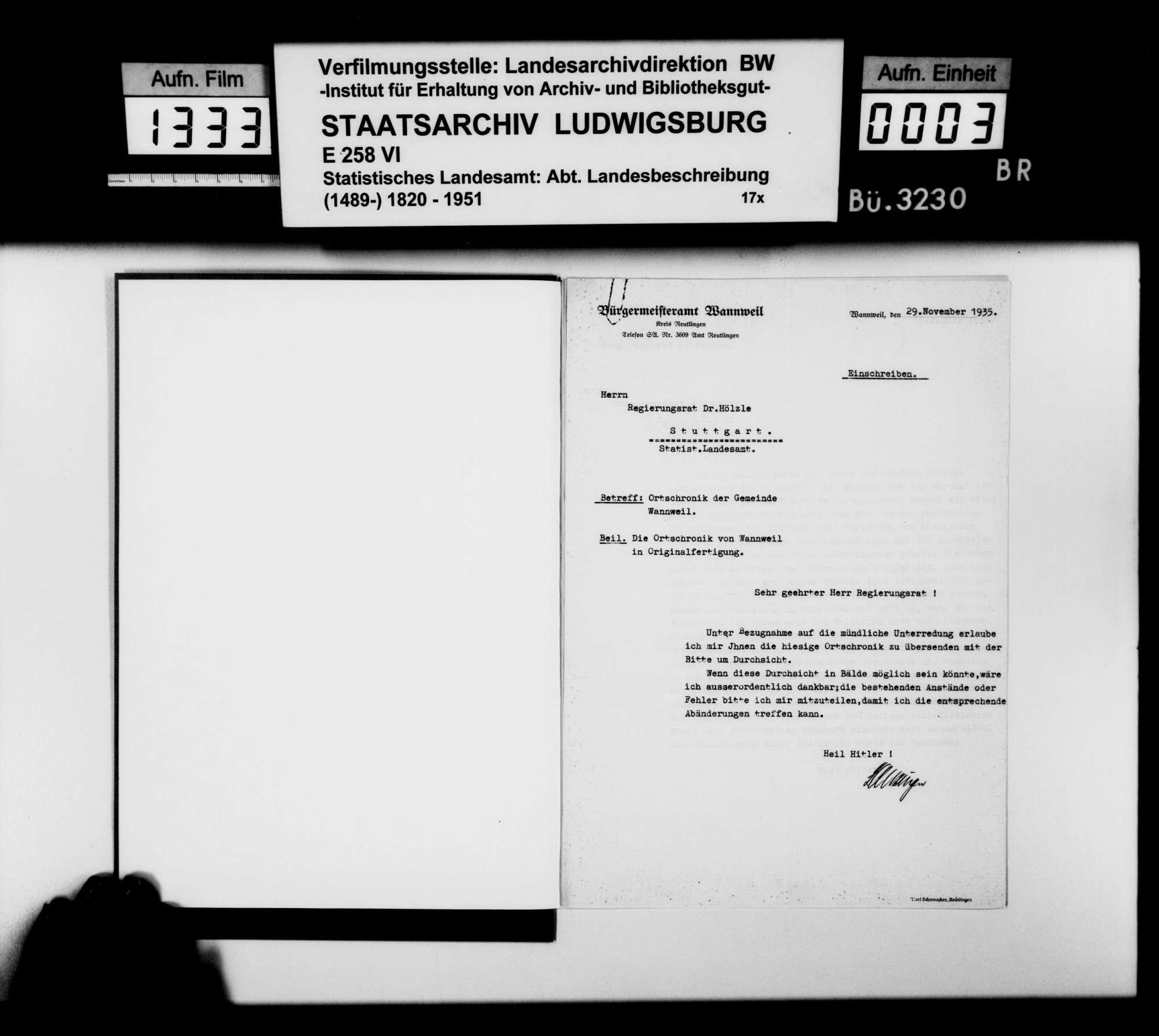 Materialsammlung für die Neubearbeitung der OAB, vornehmlich zur Oberamtsstadt, Bild 2